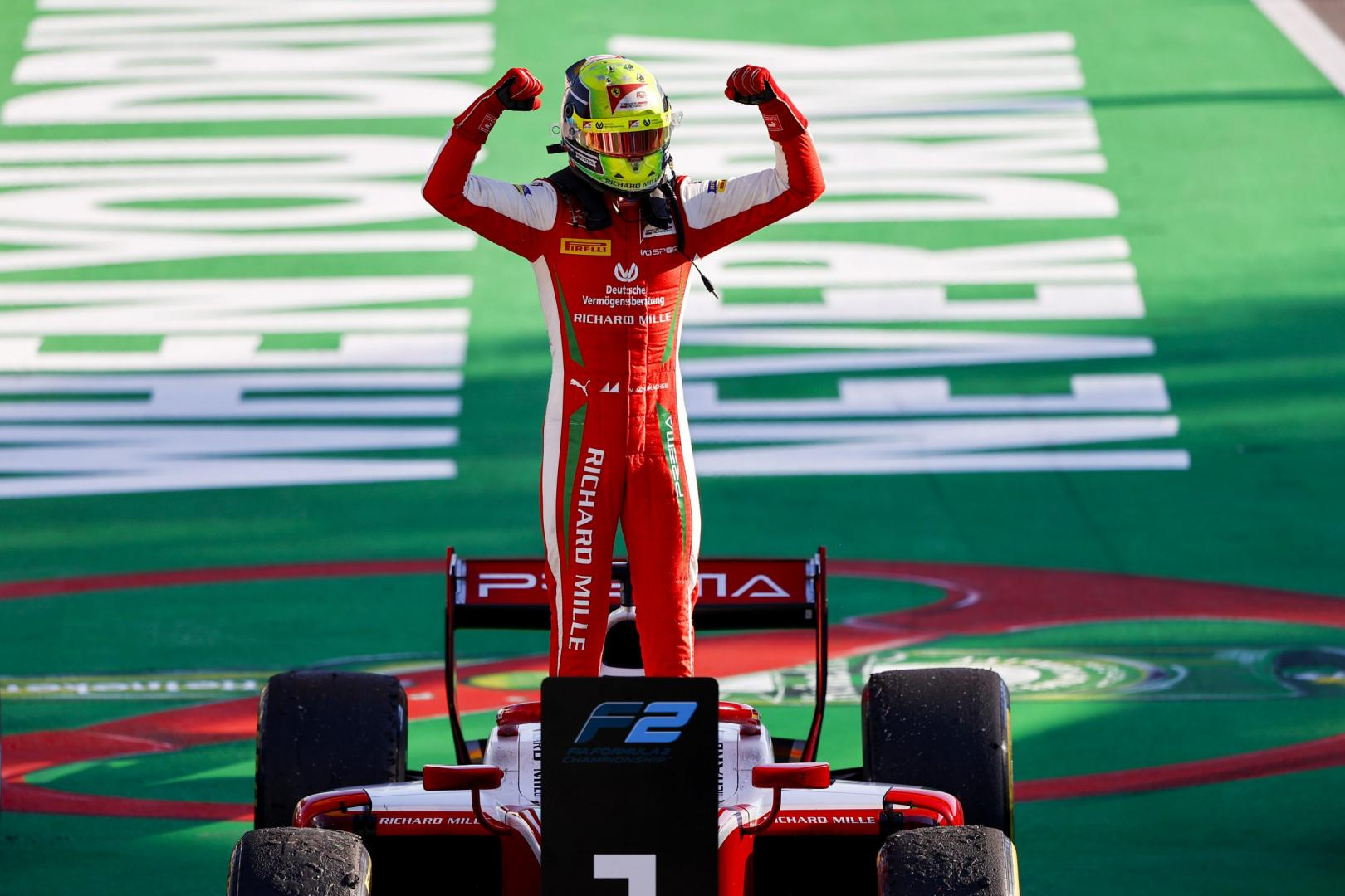 Mick Schumacher naar Haas F1 2021