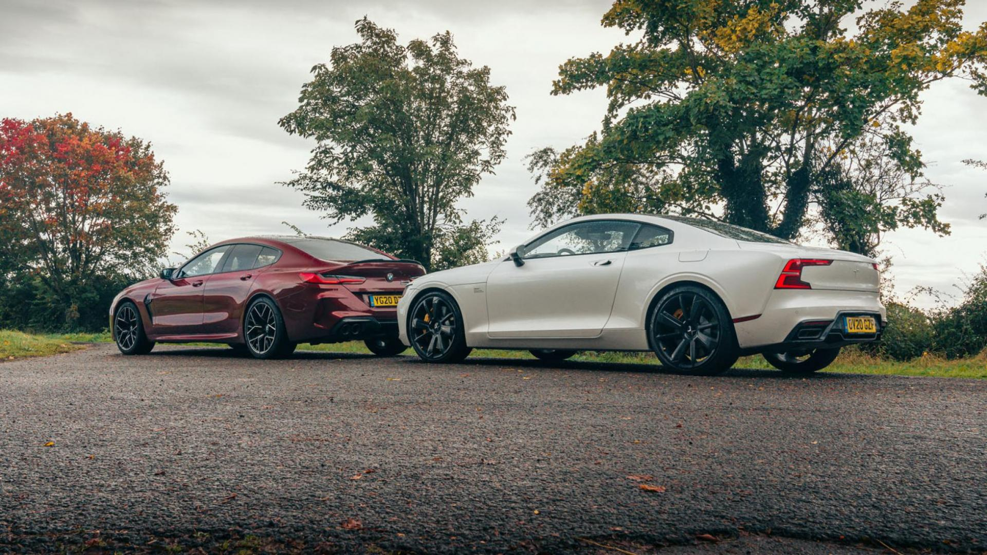 Polestar 1 vs BMW M8 Gran Coupe