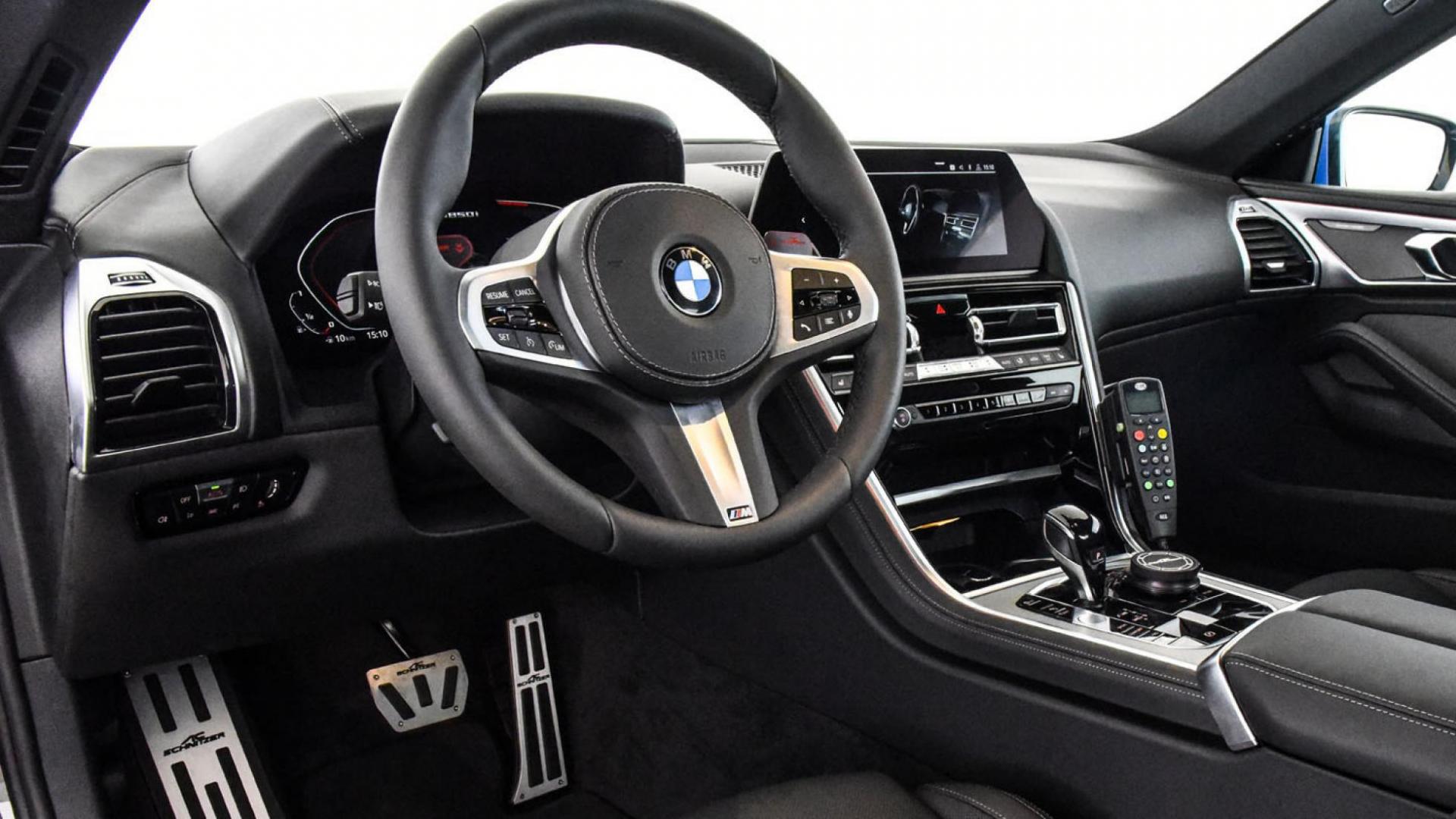 Polizei BMW 850i AC Schnitzer