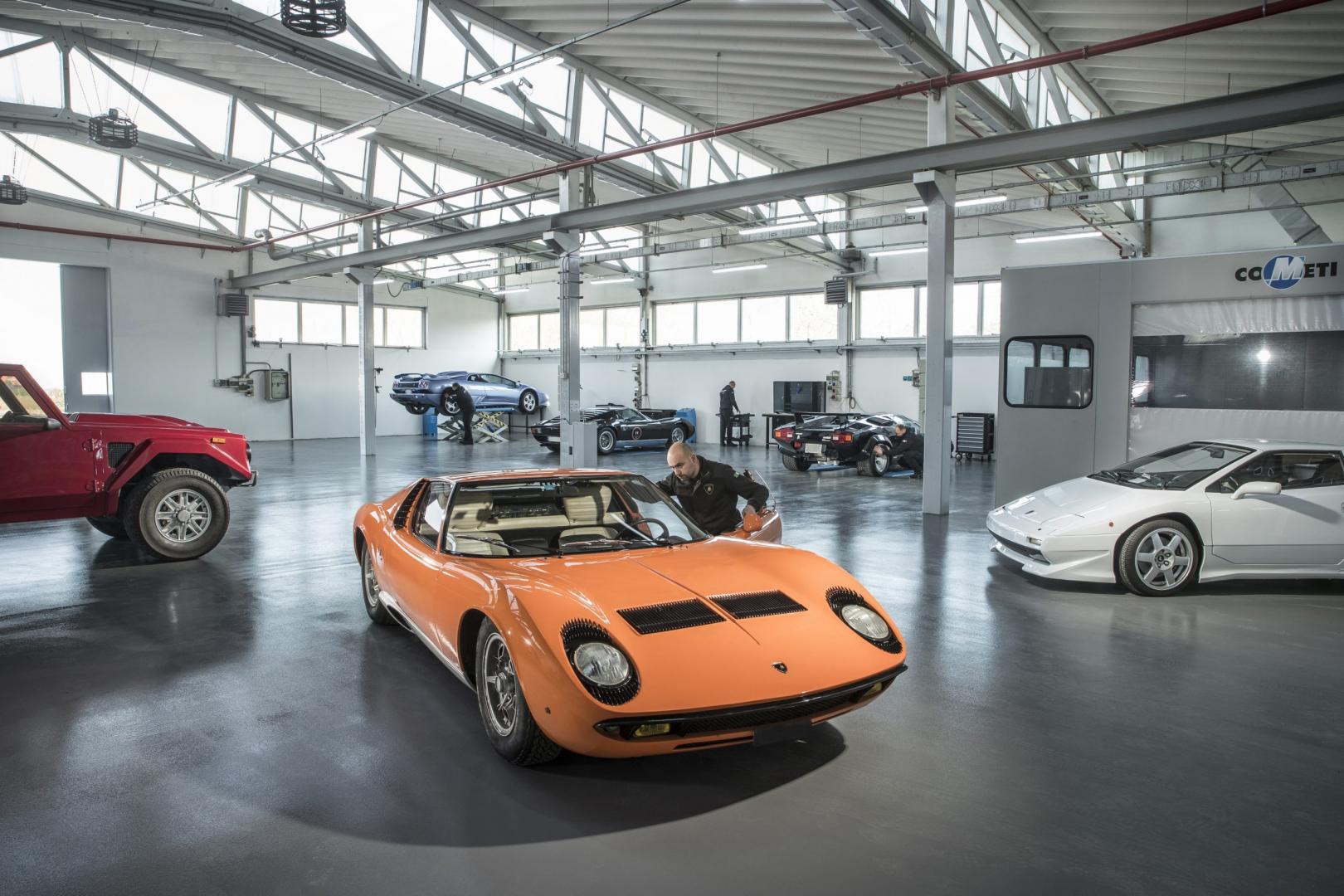 Polo Storico Lamborghini Miura
