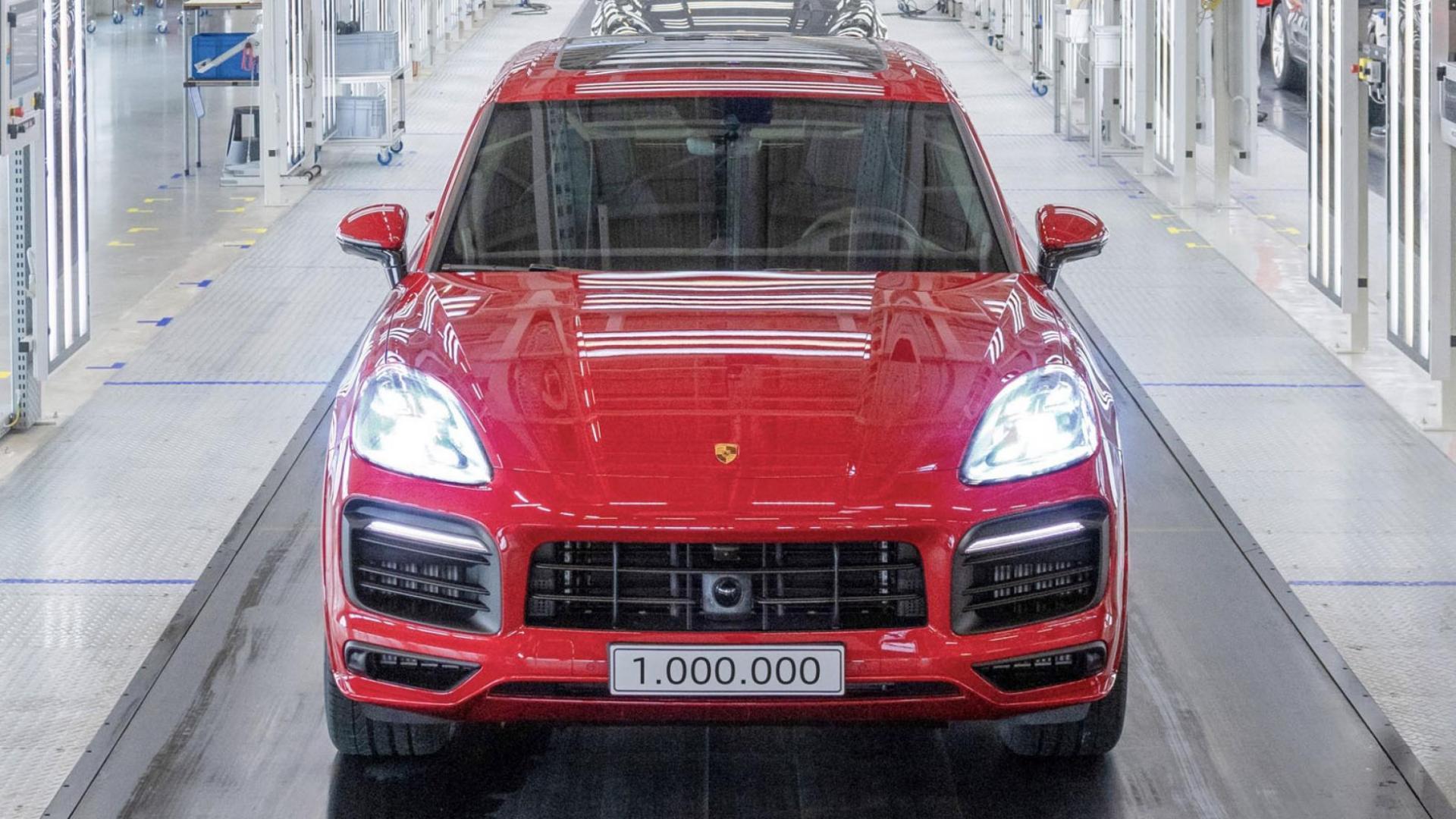 1.000.000e Porsche Cayenne