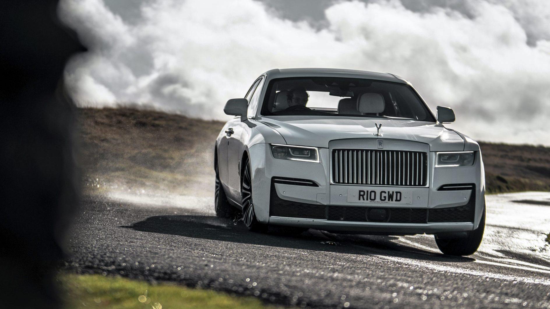 Luxe-auto van het jaar 2020 Voorkant Rolls-Royce Ghost
