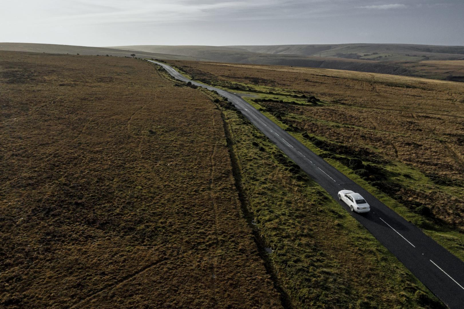 Rolls-Royce Ghost met drone