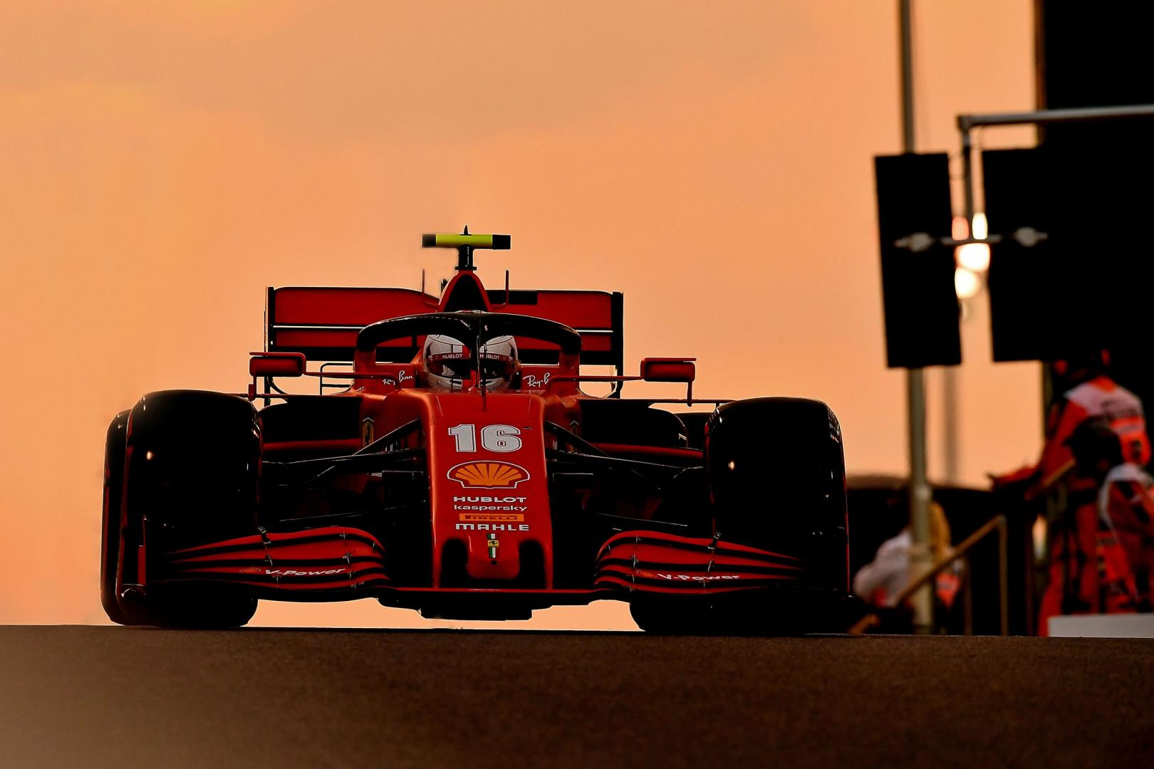 Uitslag van de GP van Abu Dhabi 2020