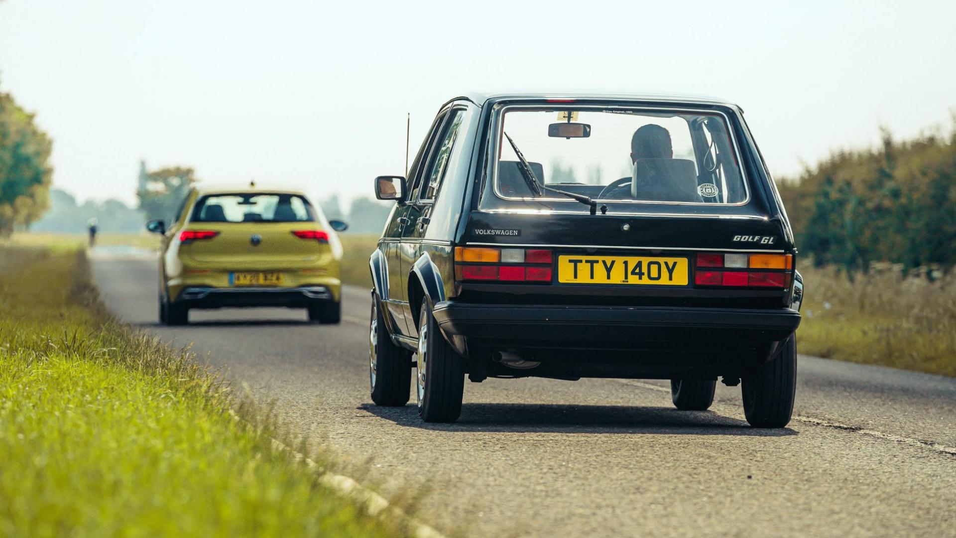 Volkswagen Golf GL uit 1982