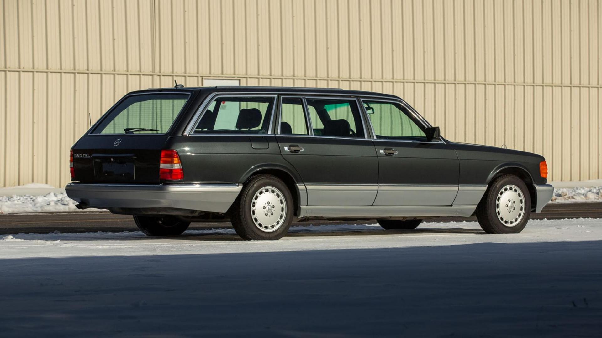 Mercedes S-klasse Estate 560 TEL