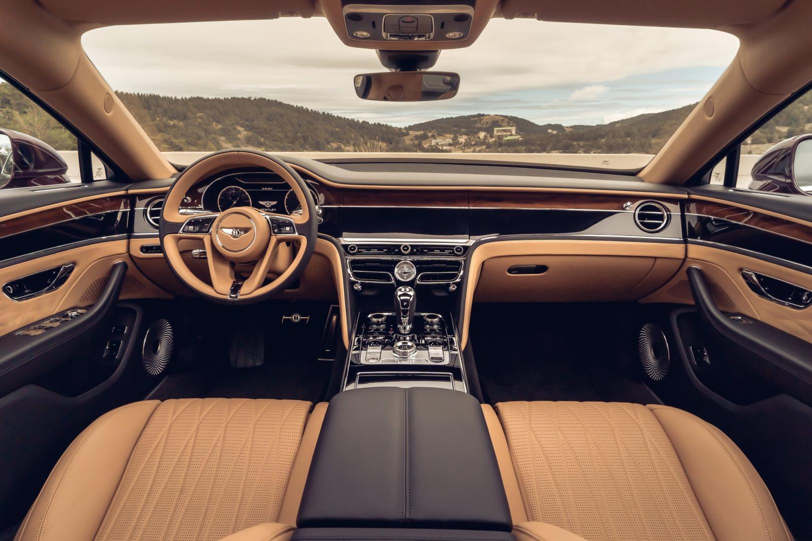 Interieur Bentley Flying Spur V8 2021
