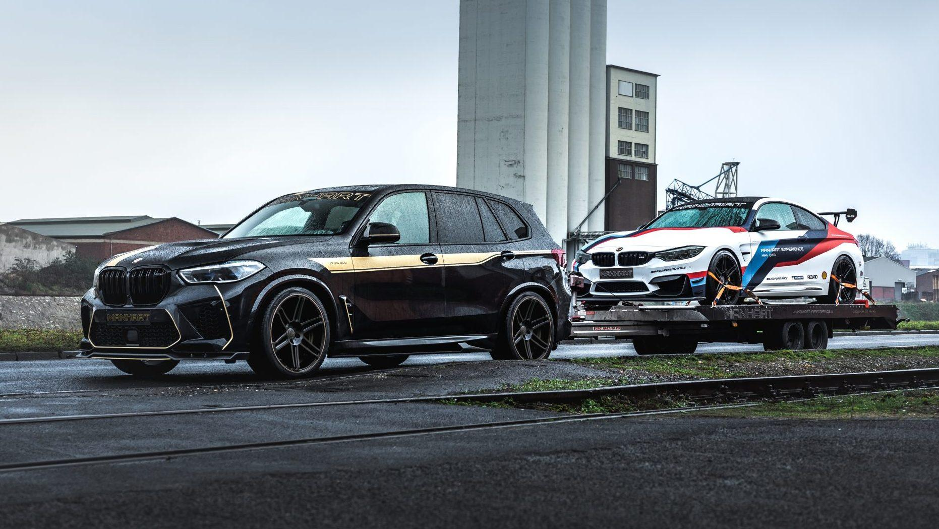 Manhart MHX5 800 (BMW X5 M Competition) en MH4 GTR (BMW M4)