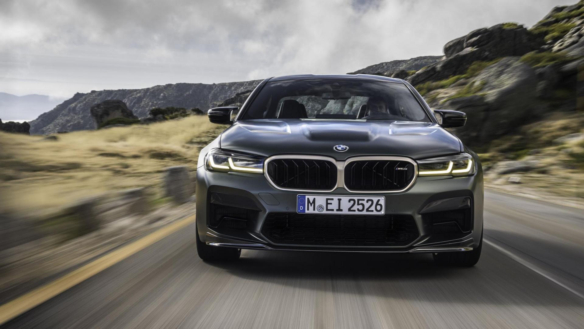 Voorkant en grille BMW M5 CS 2021 (G30)