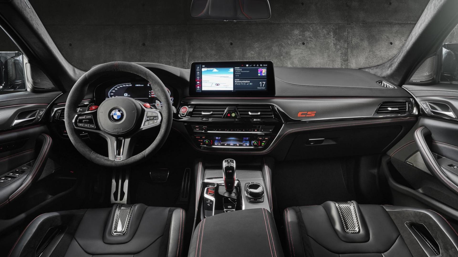 Interieur BMW M5 CS 2021 (G30)