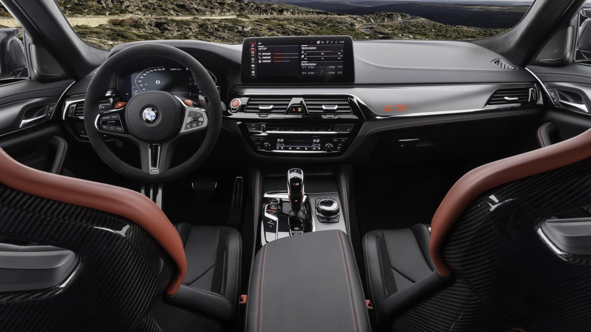 Stoelen BMW M5 CS 2021 (G30)