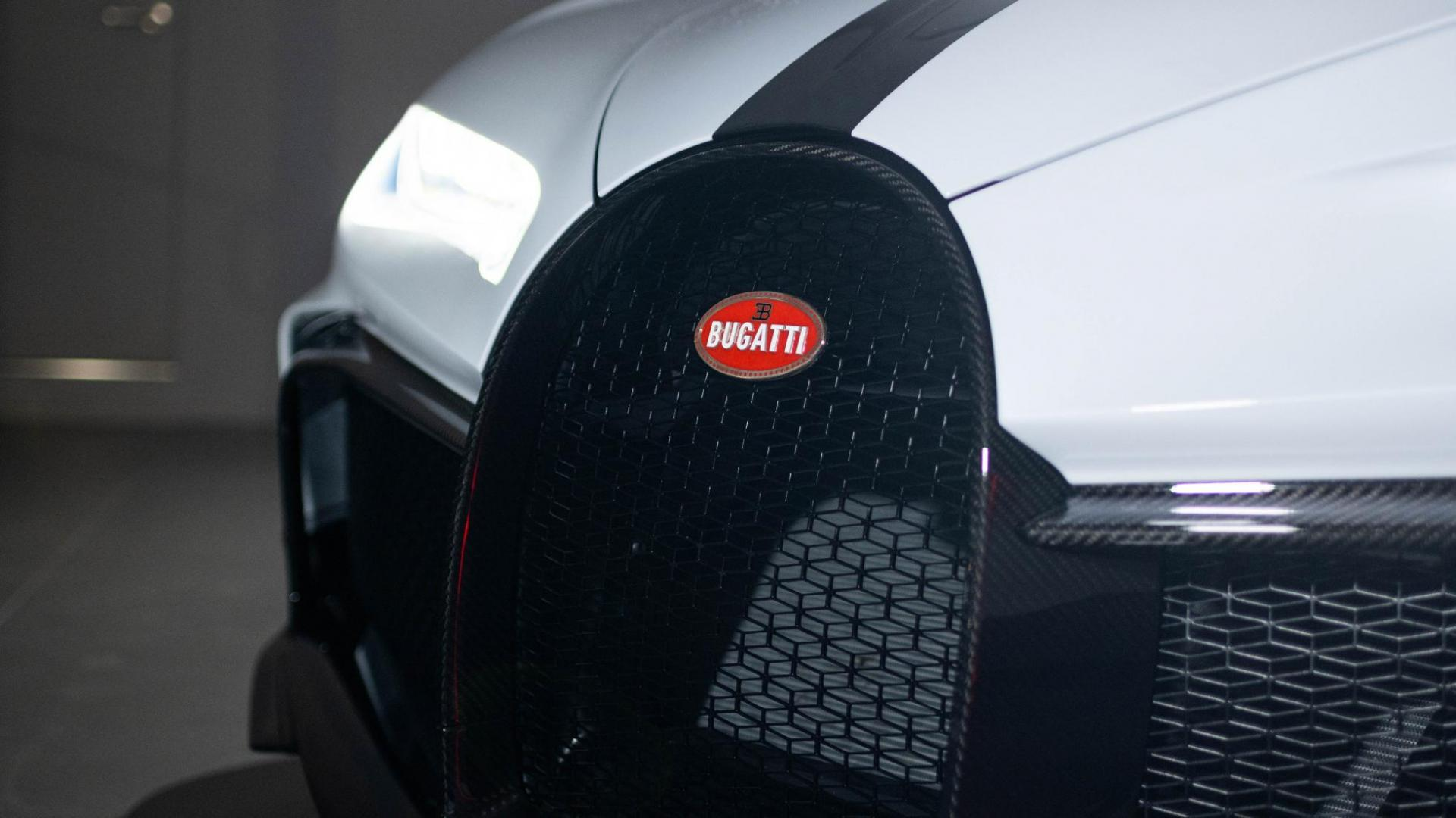 Grille eerste Bugatti Chiron Pur Sport