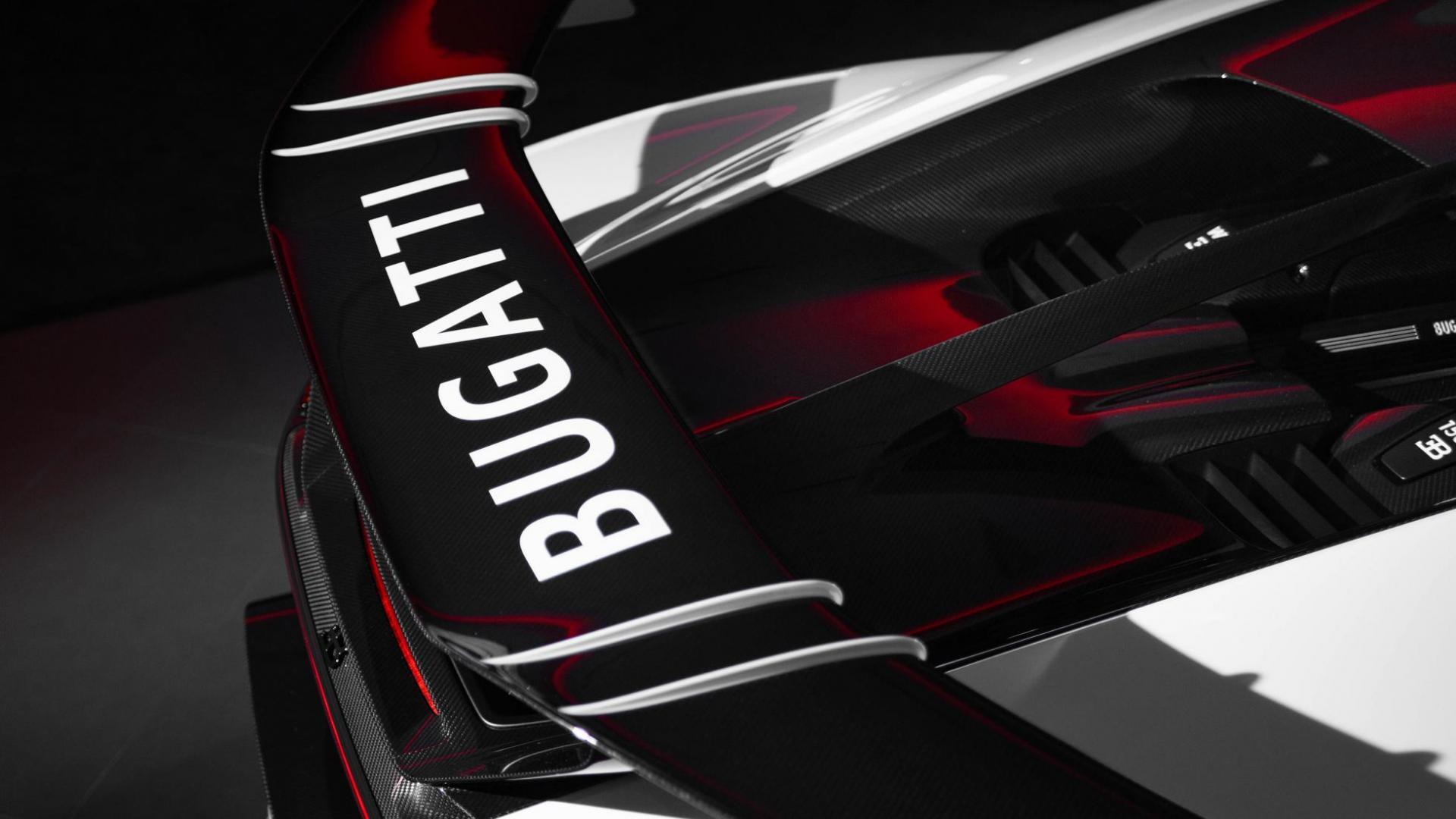 eerste Bugatti Chiron Pur Sport