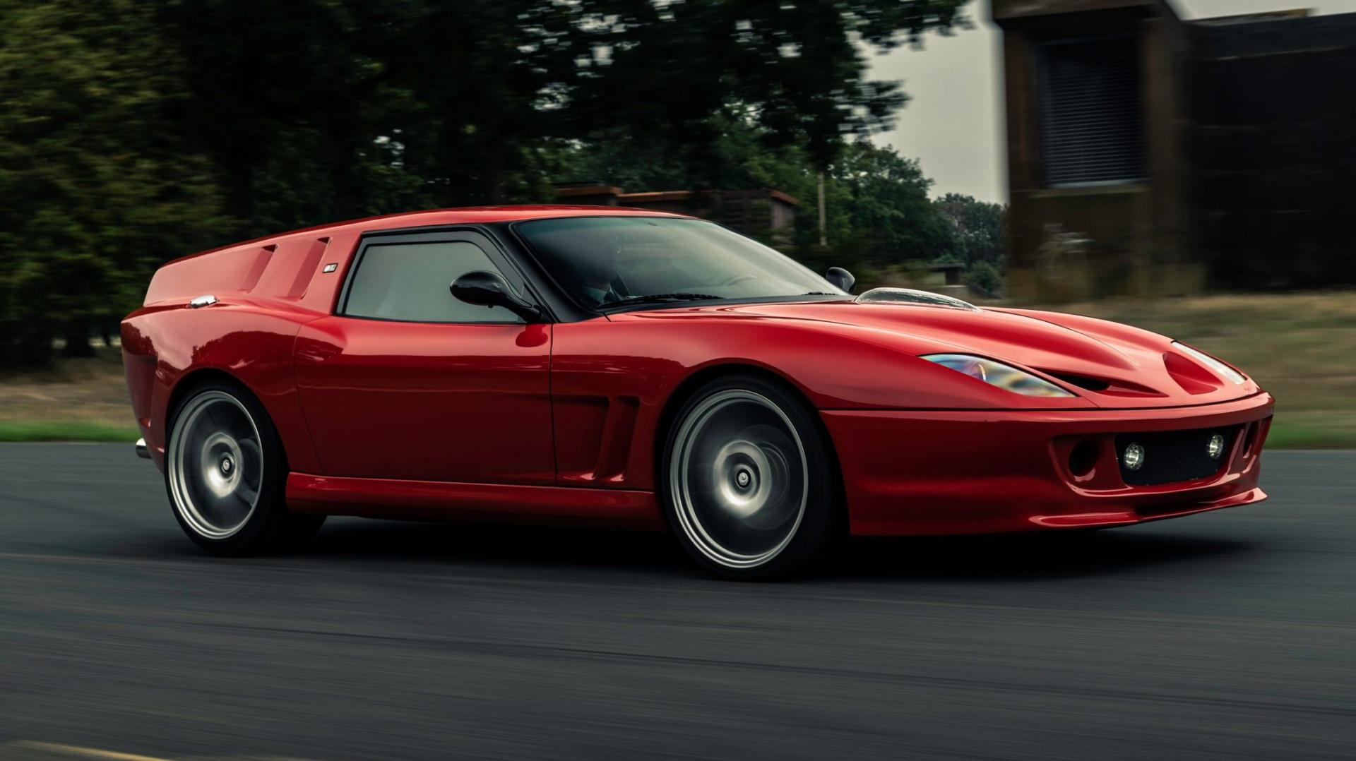Breadvan Hommage is een Ferrari 550 Shooting Brake
