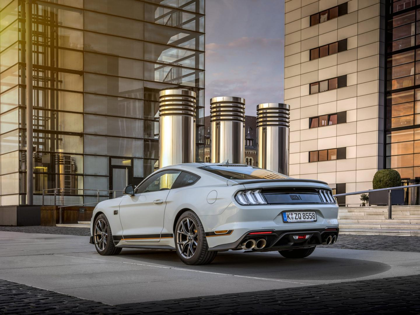 Ford Mustang Mach 1 in Nederland (2021)