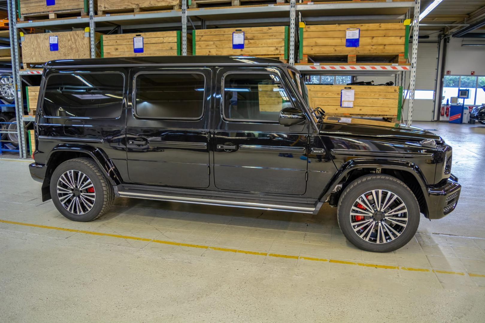 Mercedes G-klasse van 1 miljoen euro
