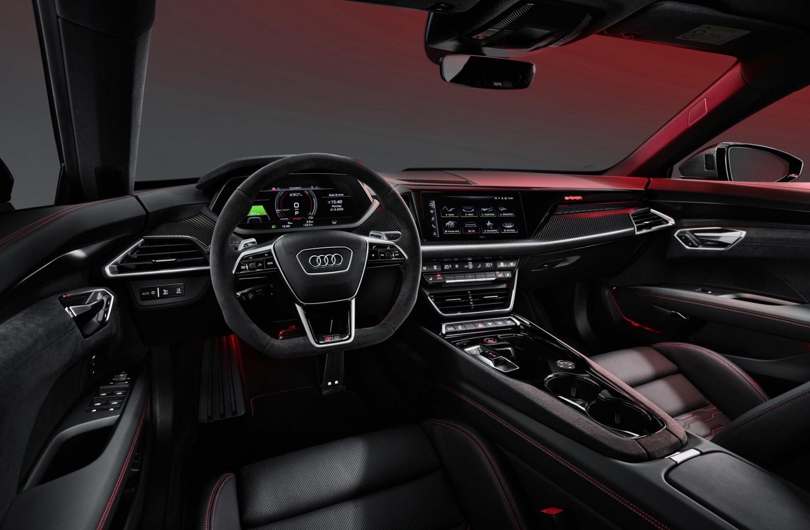 Interieur Audi e-tron GT 2021