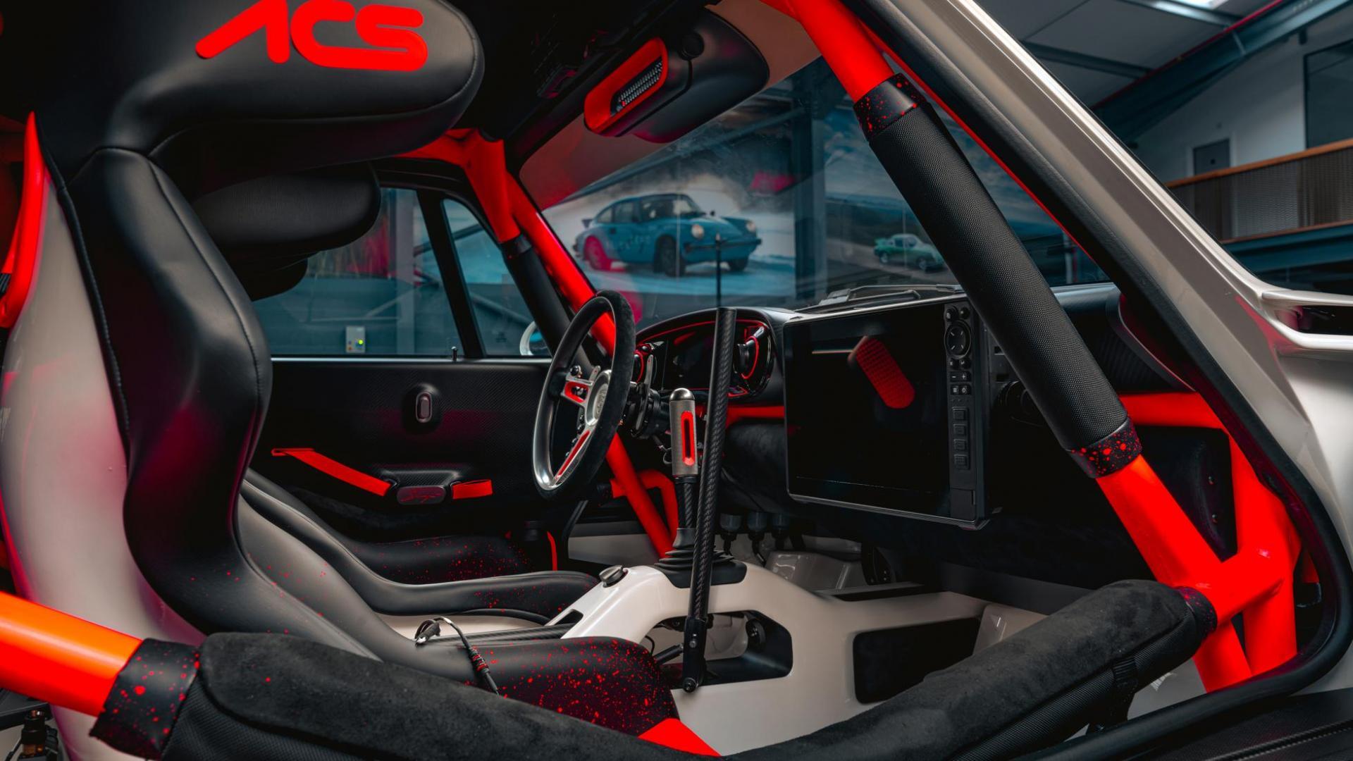 Interieur Singer Safari 911 (Porsche 911 964)