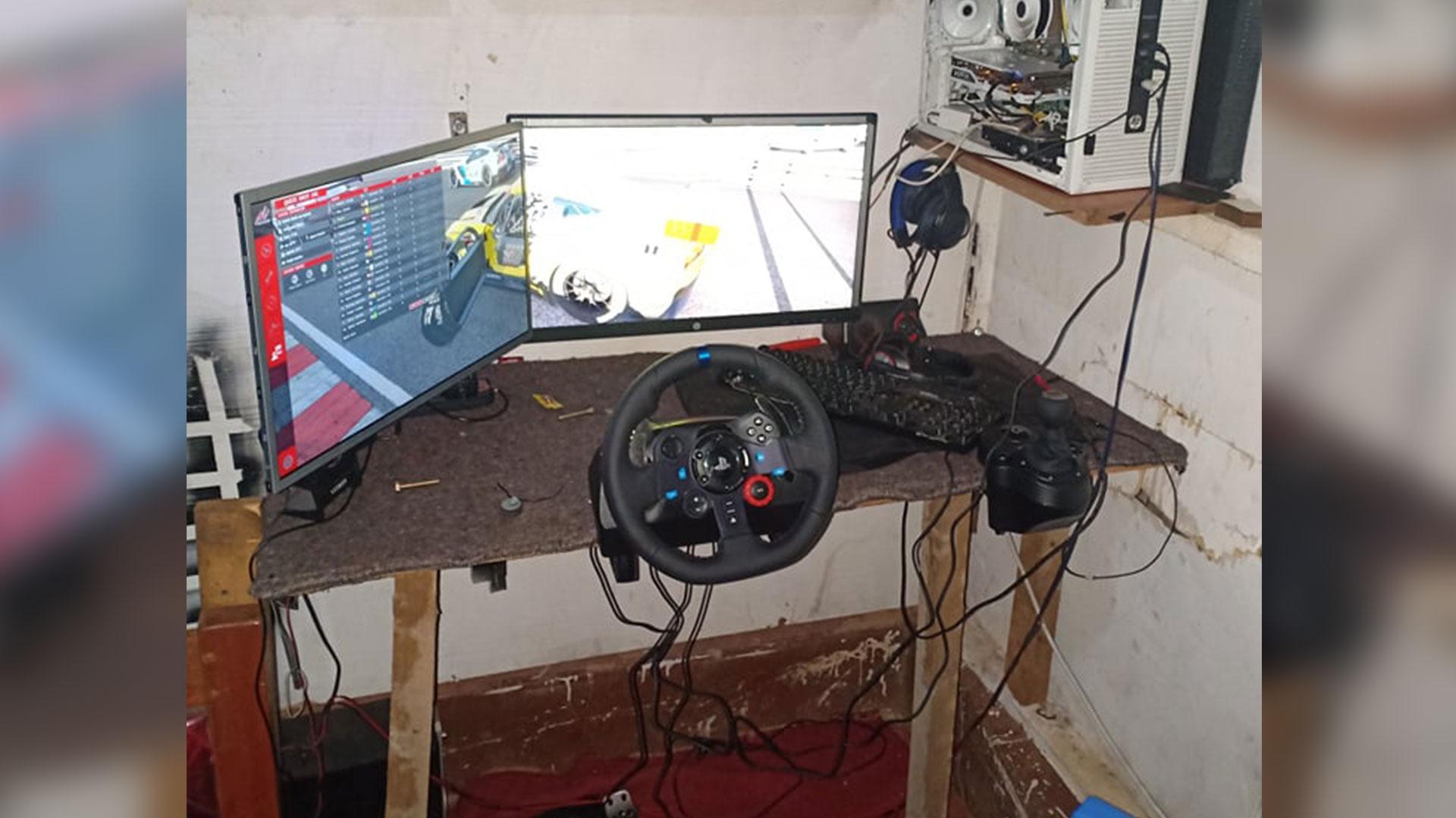 Logitech G29 in Kenia