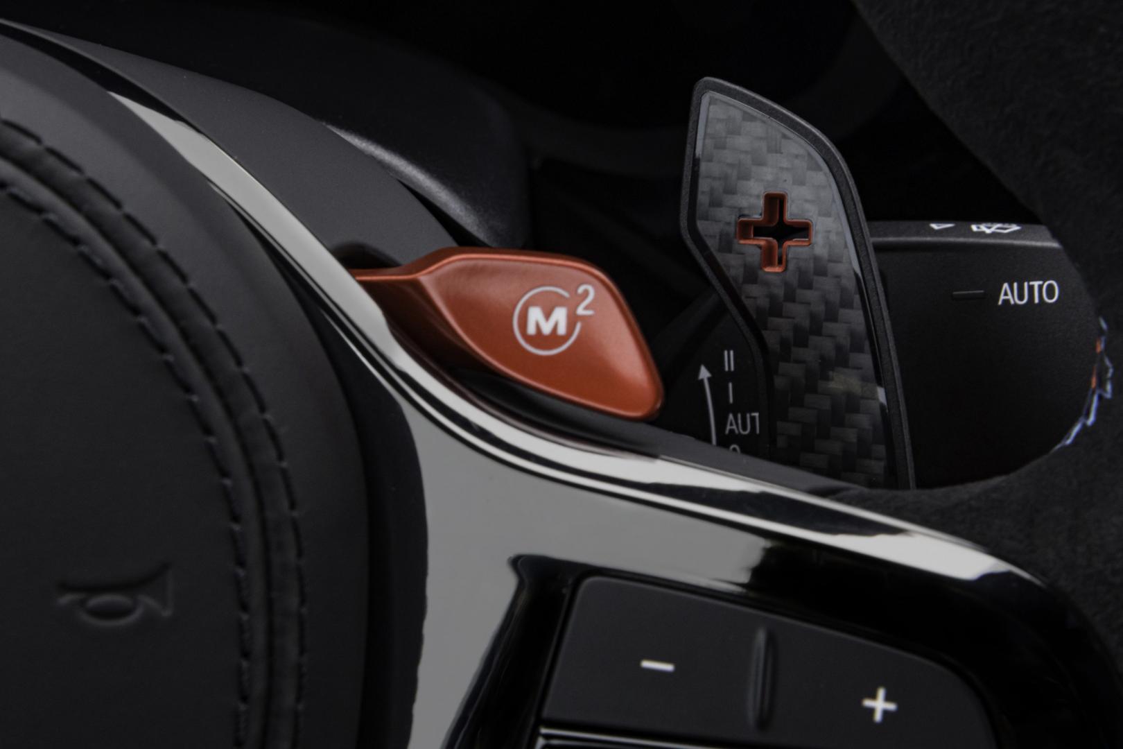 Stuur van BMW M5 CS met M-knop