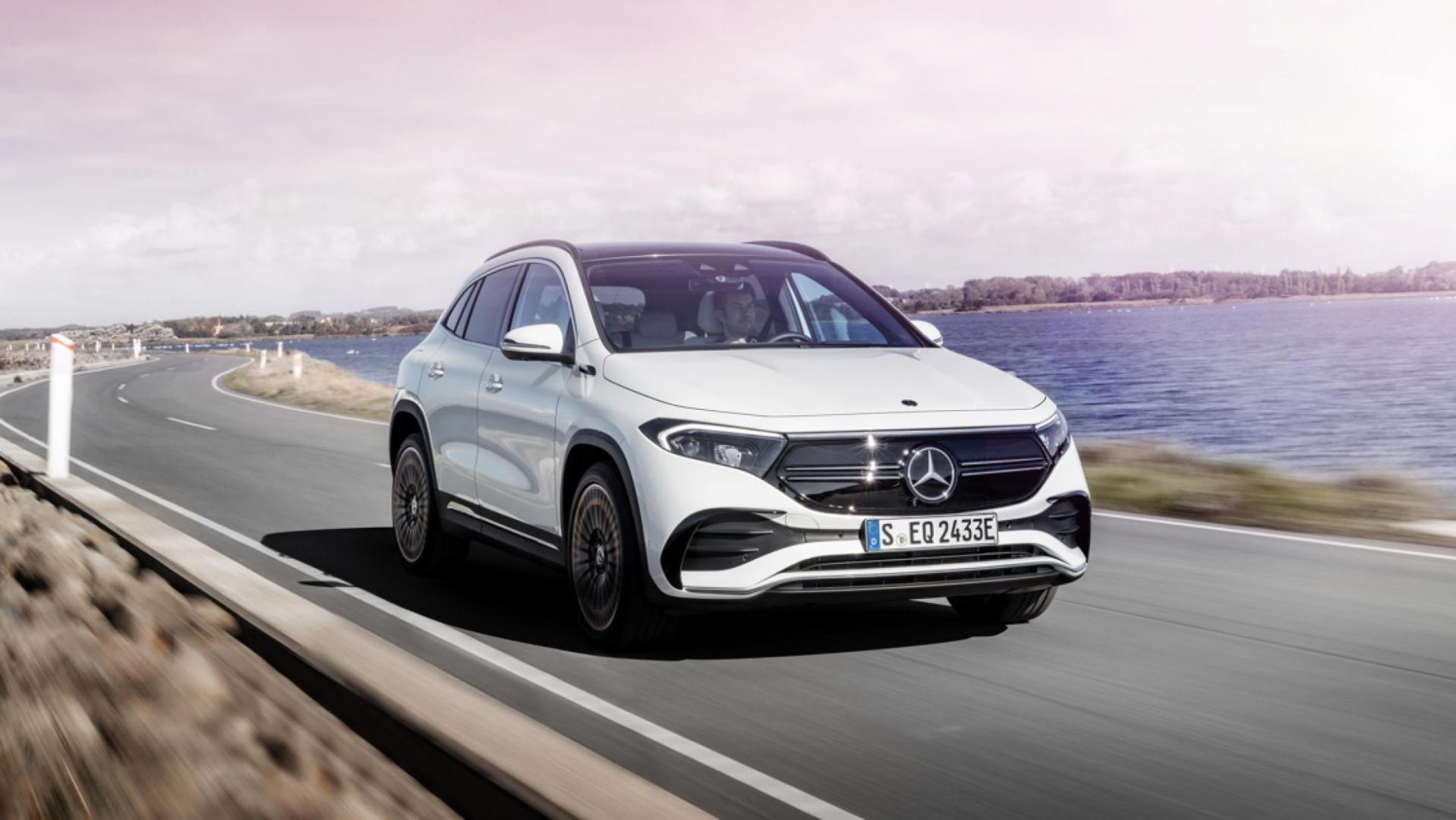 Ook de Mercedes EQA