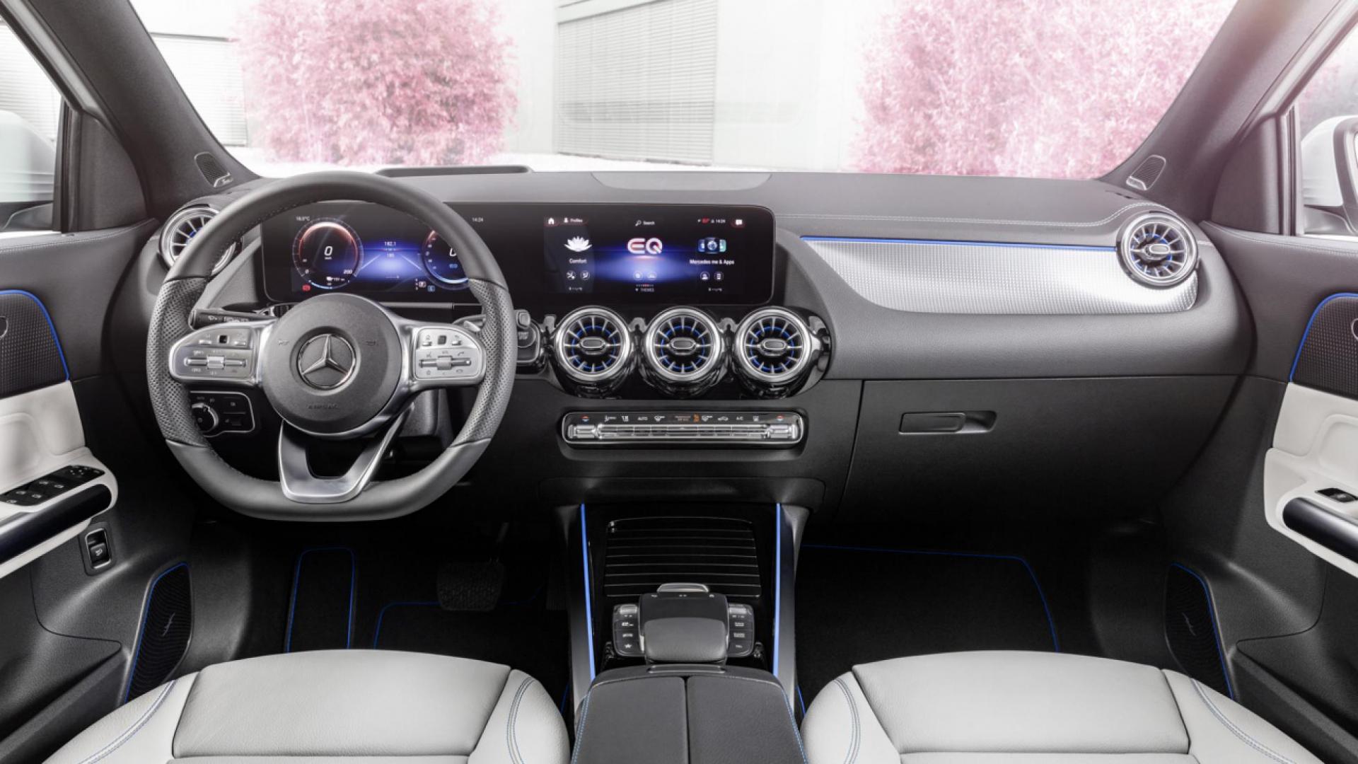 Interieur Mercedes EQA