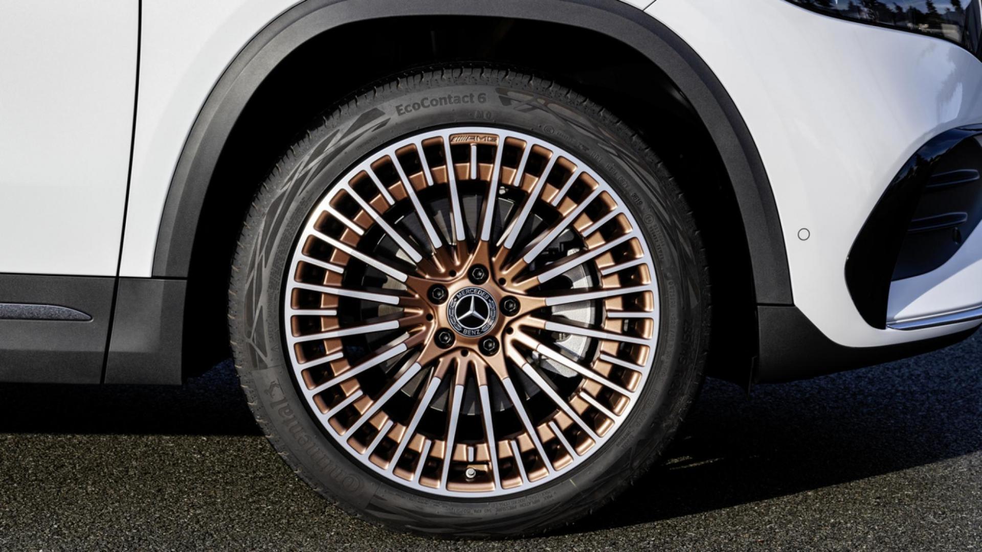 Wielen Mercedes EQA