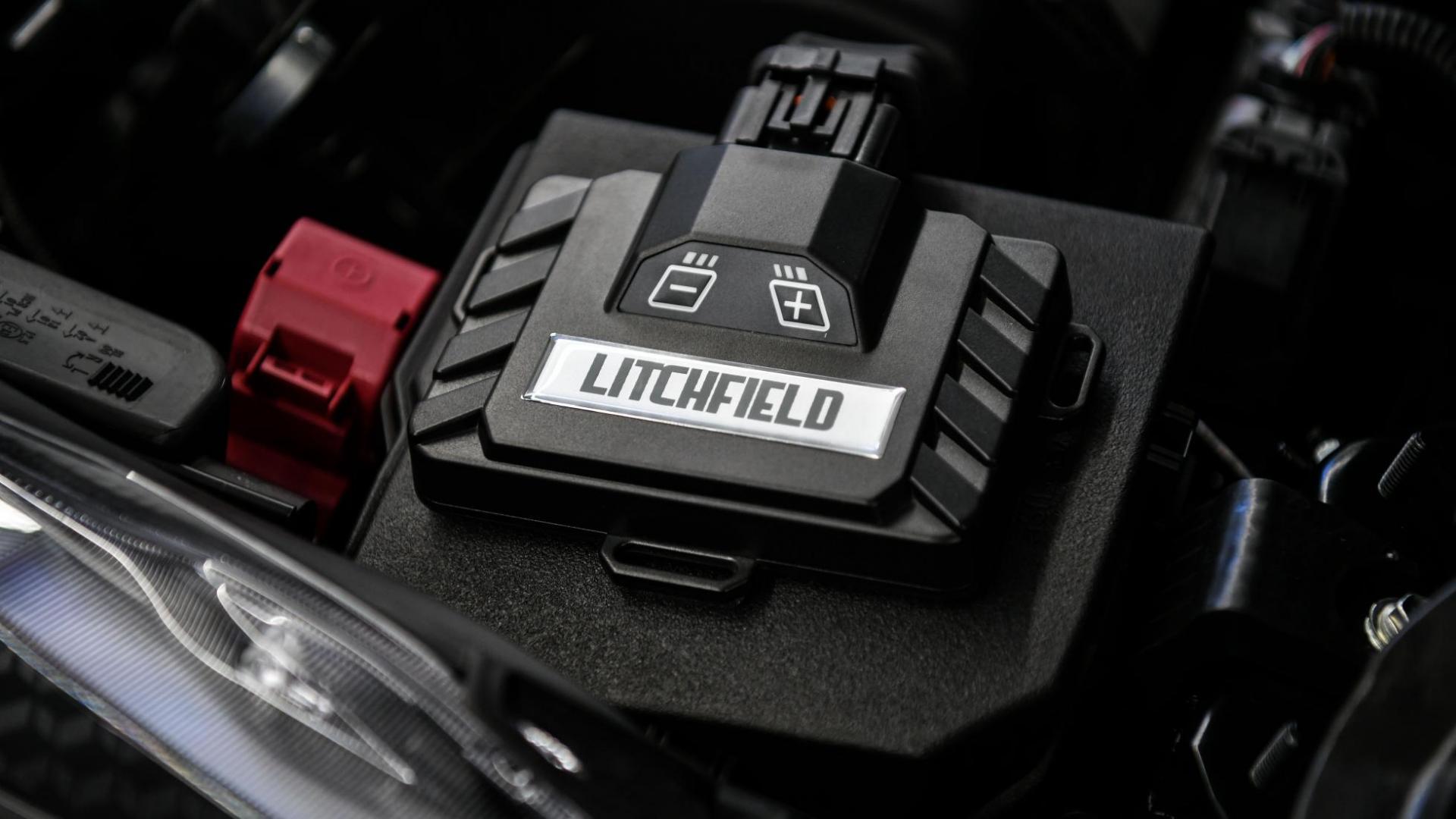 Piggyback ECU van de Litchfield Toyota GR Yaris