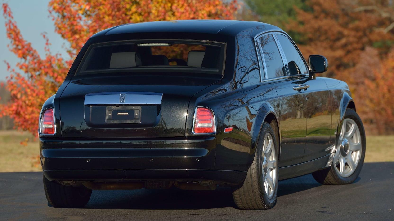 Rolls-Royce van Donald Trump naar de veiling
