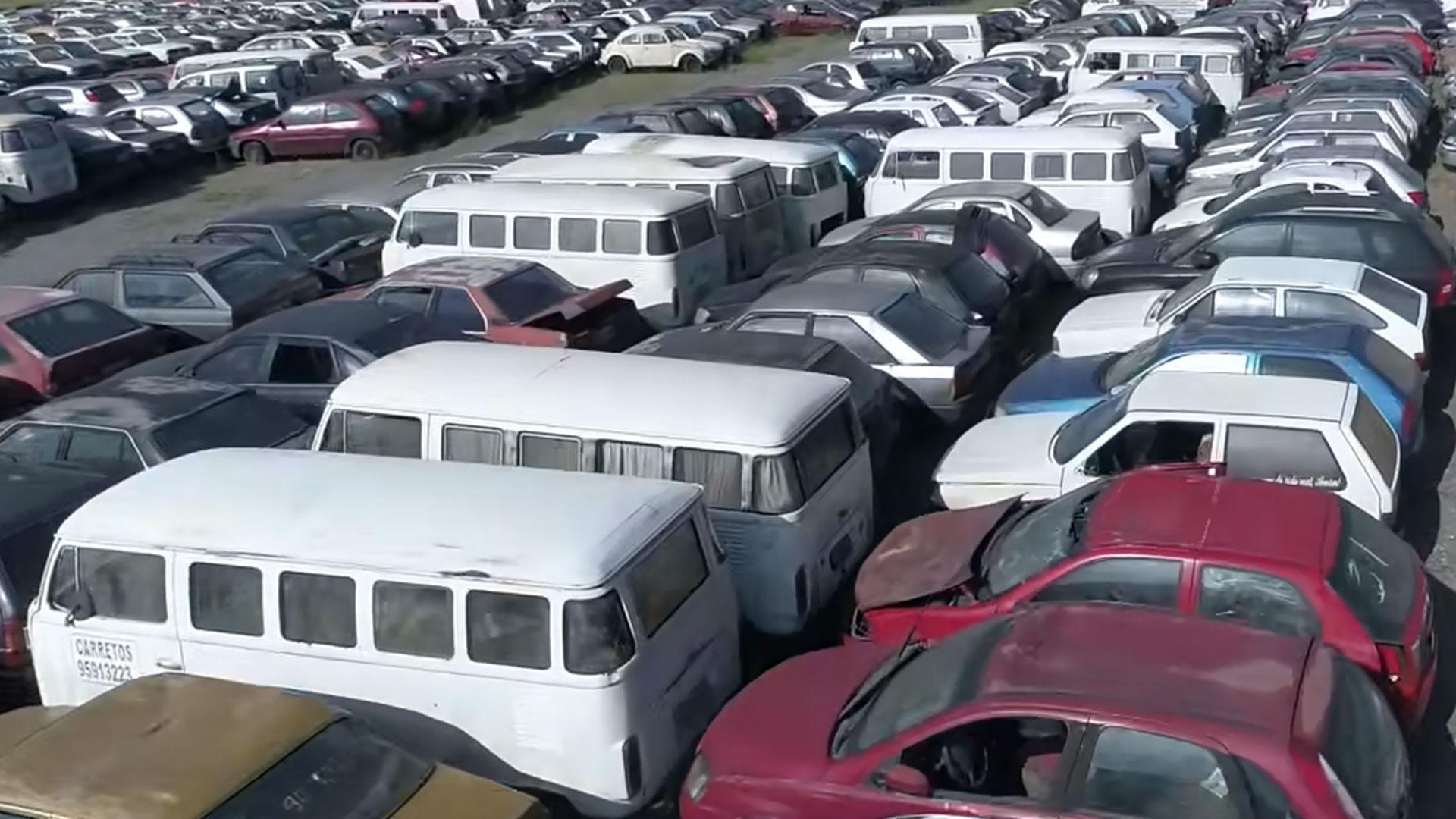 Volkswagen T2busjes sloop