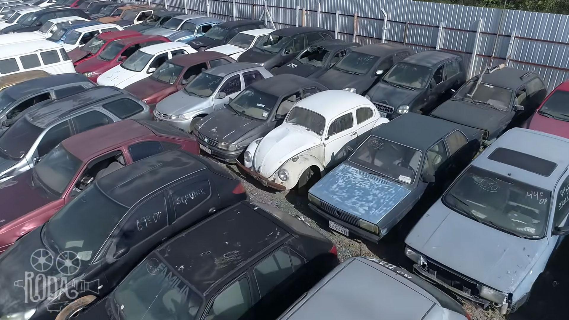 Volkswagen Kever op de sloop