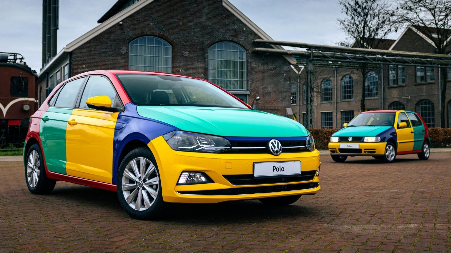 Volkswagen Polo Harlekin oud vs nieuw