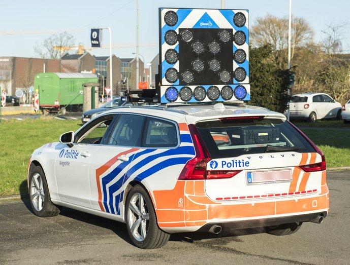 Volvo V90 van de Belgische Federale Politie