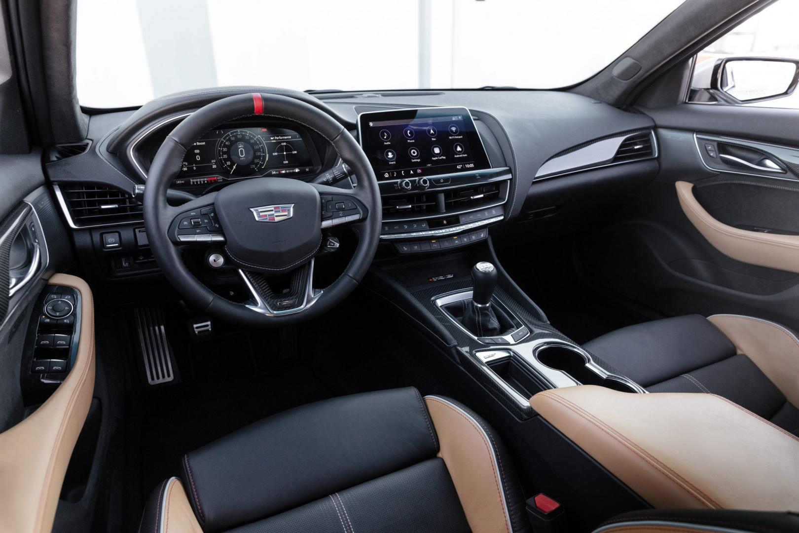 Interieur Cadillac CT5-V Blackwing (wit)