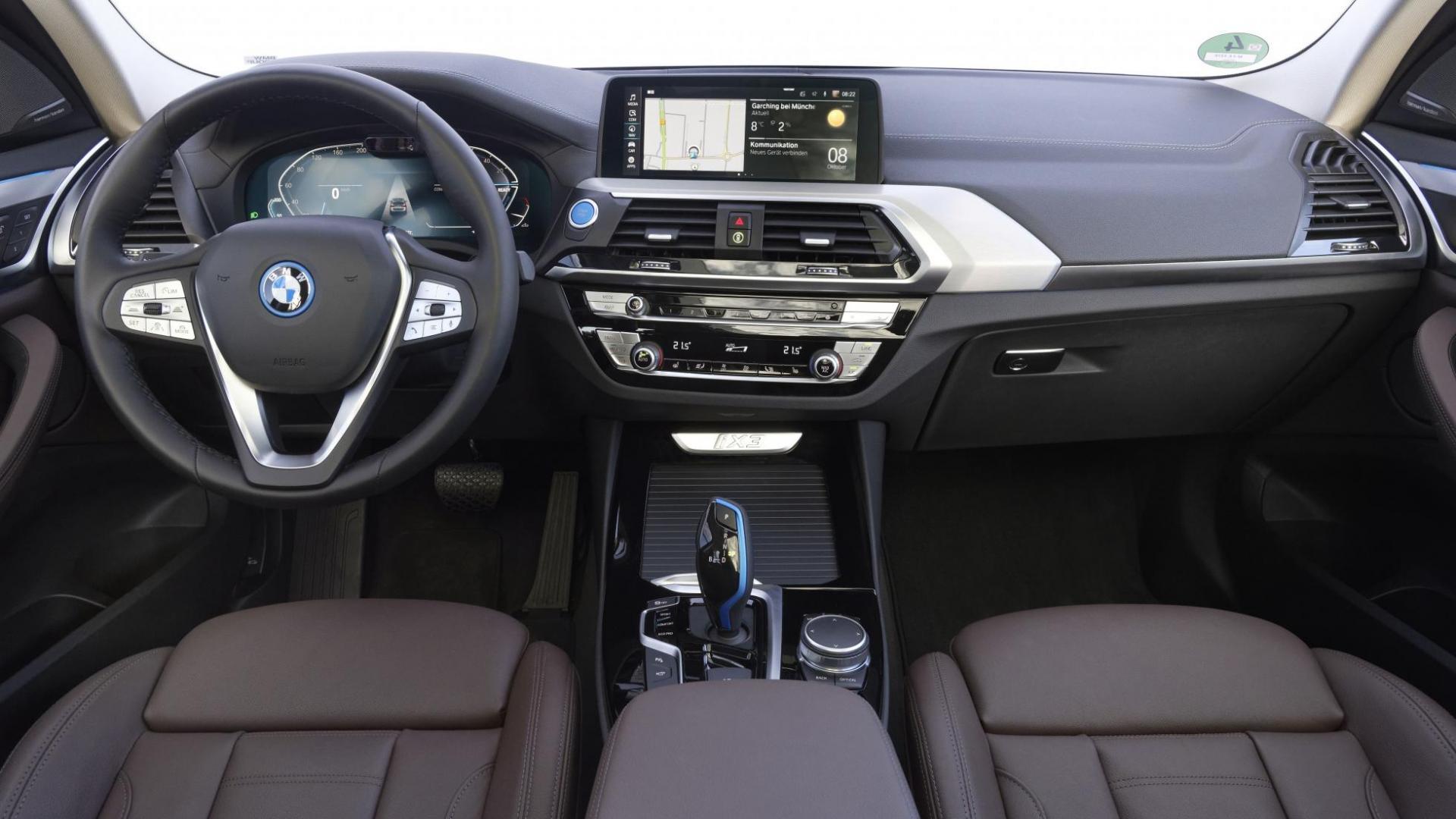 Dashboard BMW iX3 (2021)