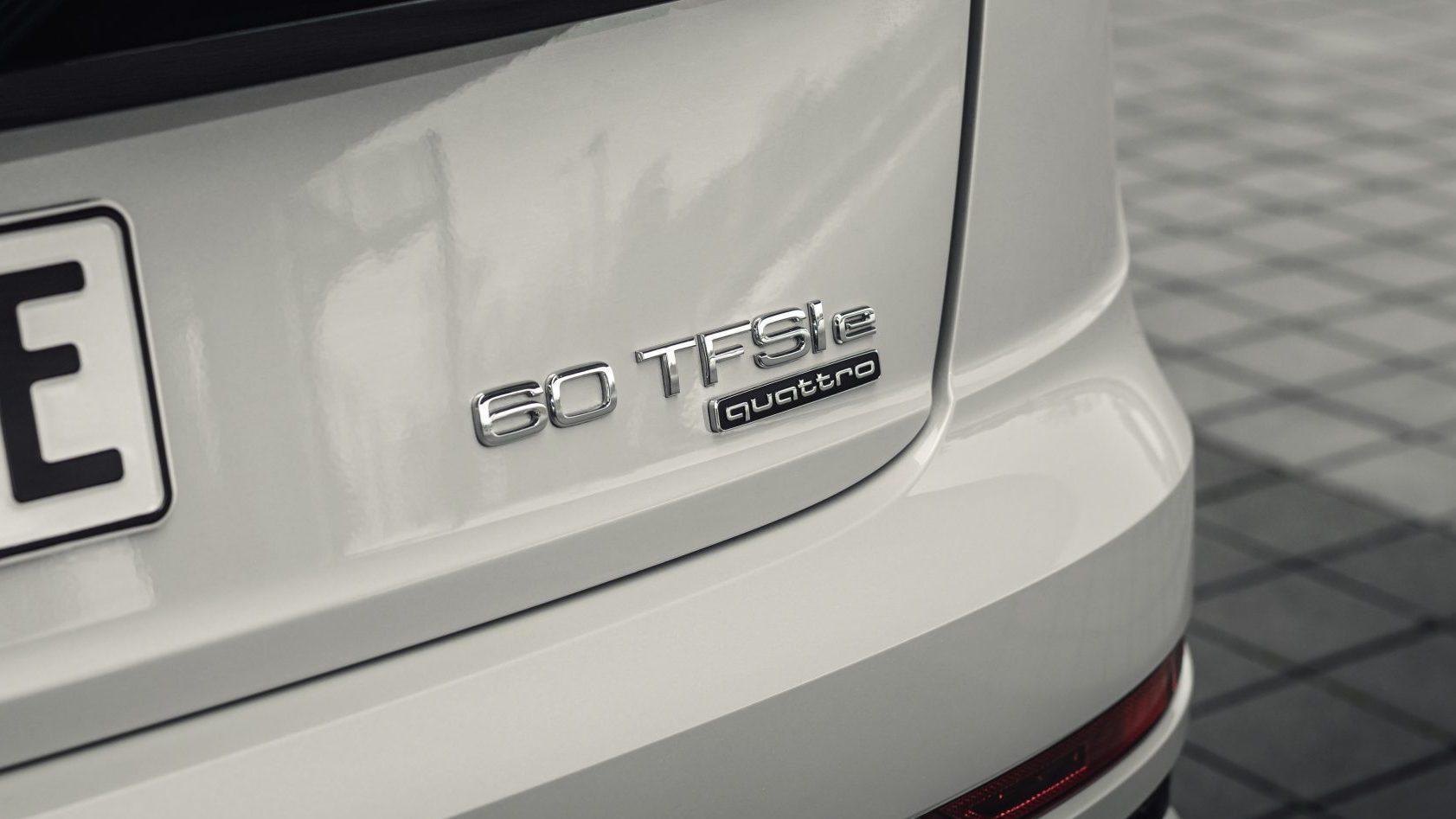 modelnamen van Audi
