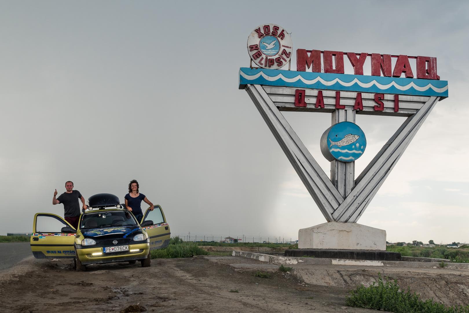 Aral Lake uzbekistan
