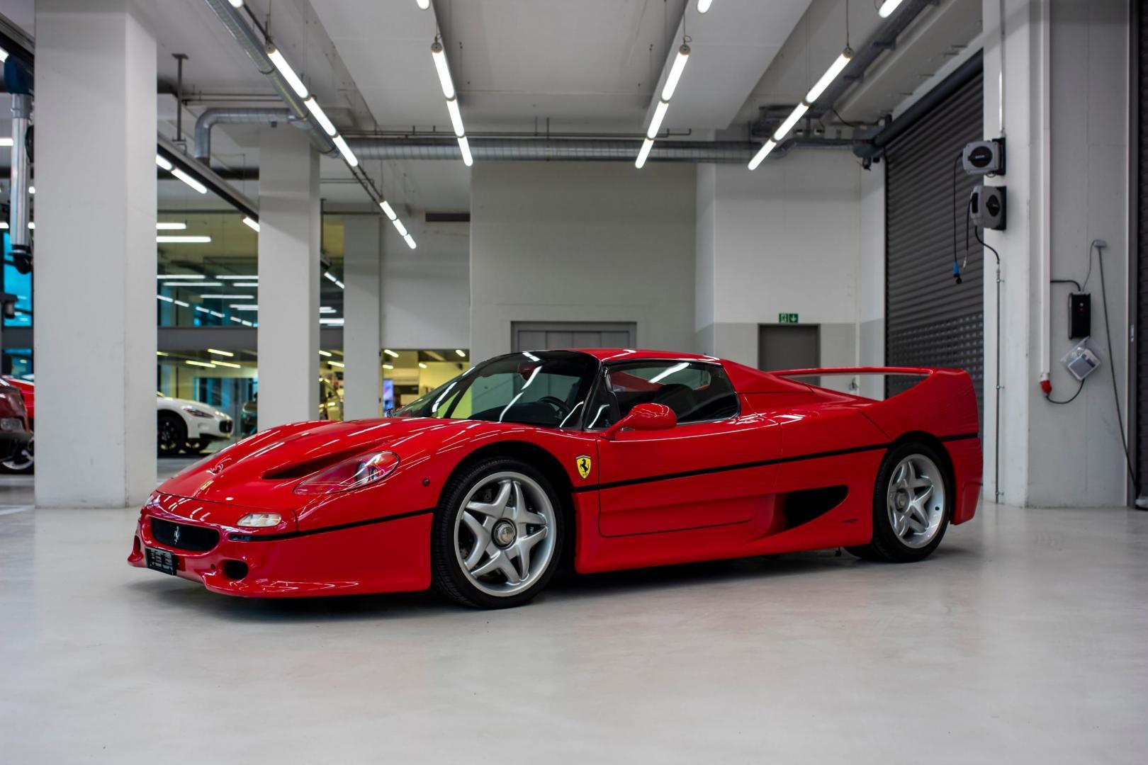 Ferrari F50 Sebastian Vettel