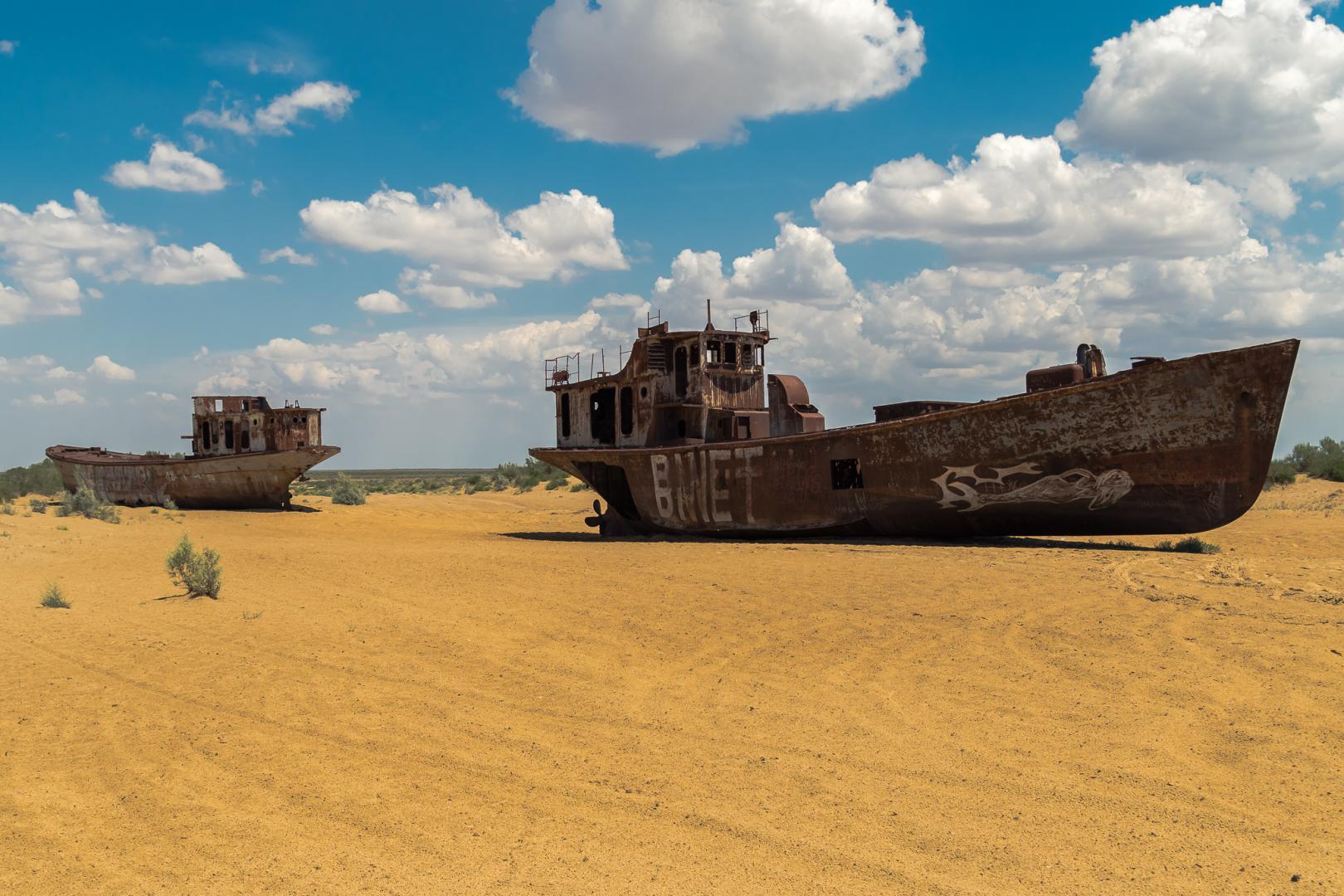 Uzbekistan - Aral lake