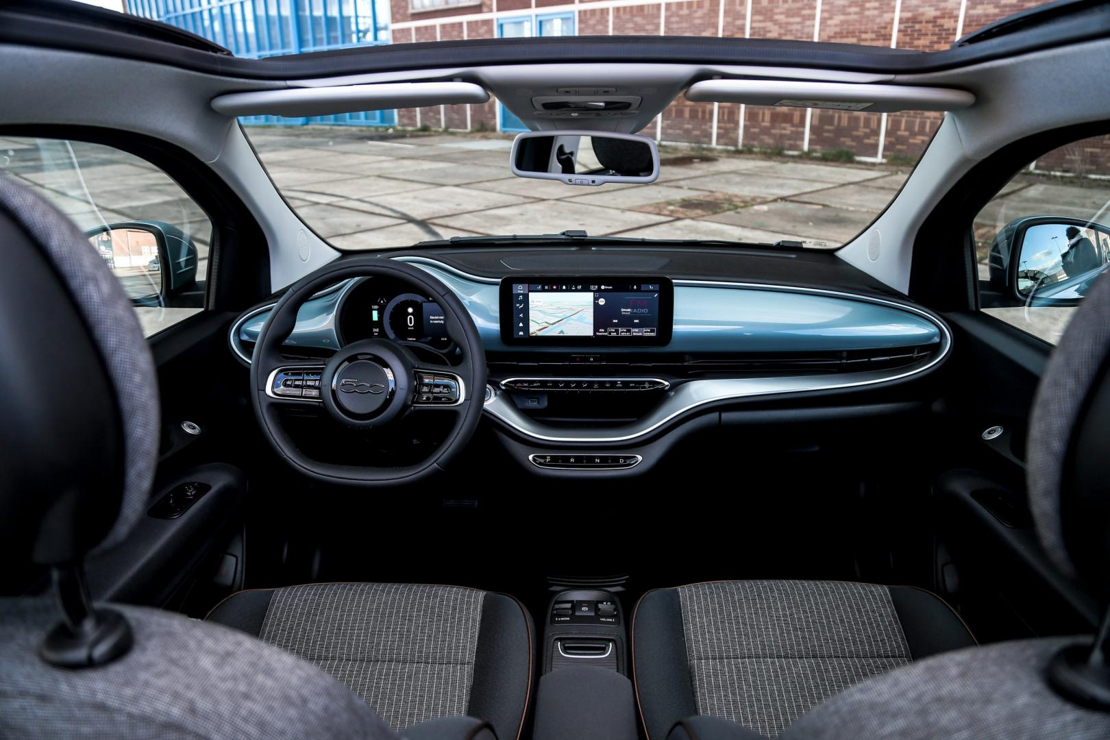 Interieur Fiat 500e Icon