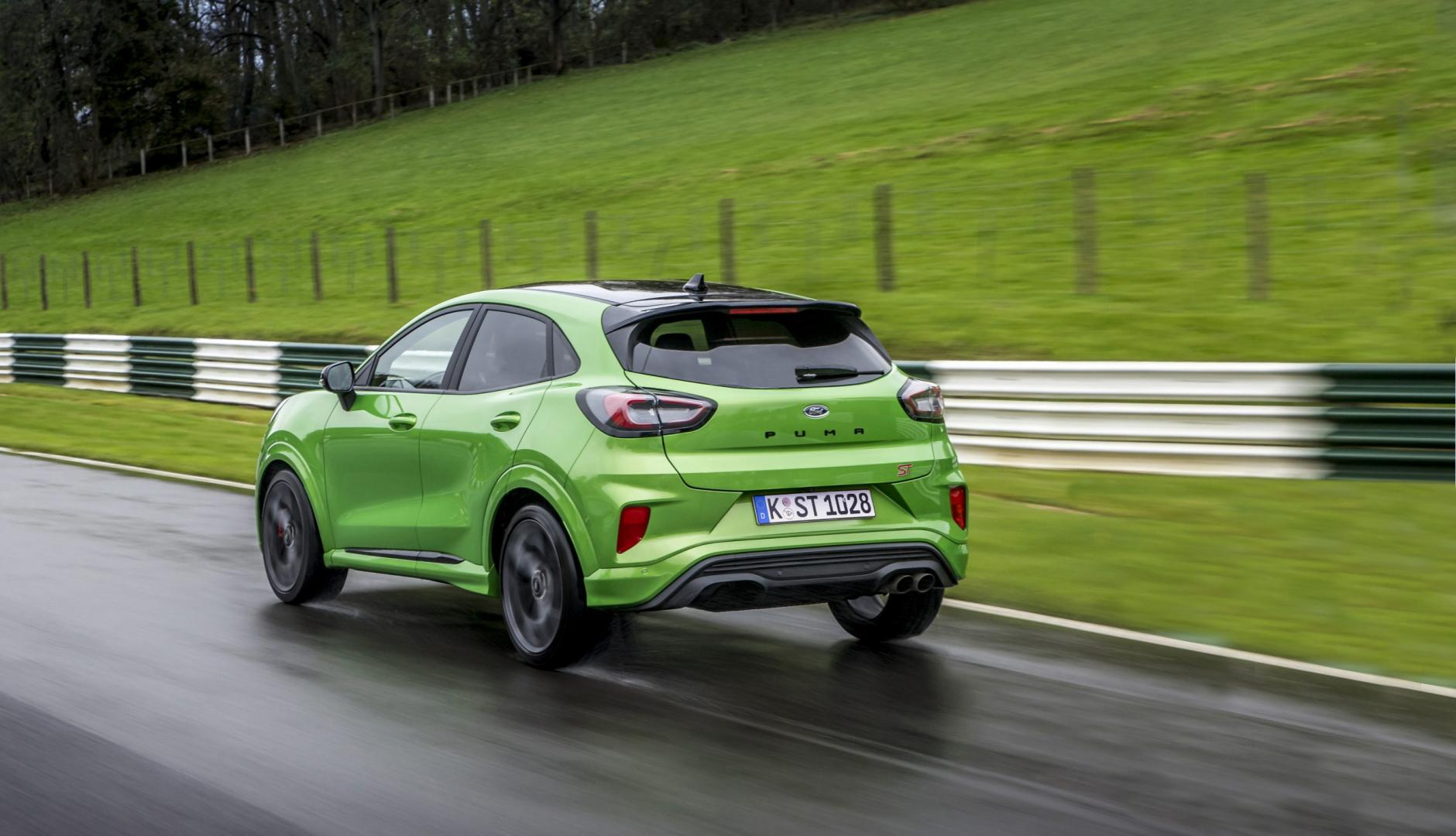 Achterkant Ford Puma ST (1.5 Ecoboost 200)