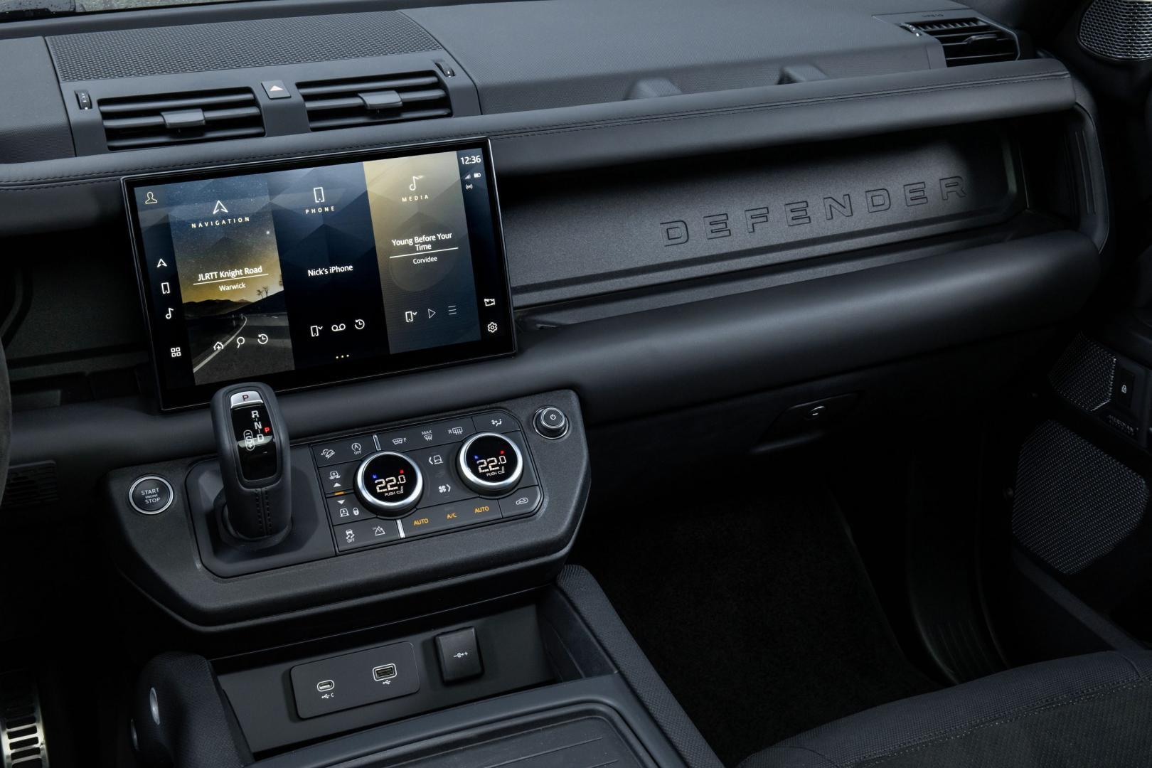 Interieur Land Rover Defender V8 (2021)