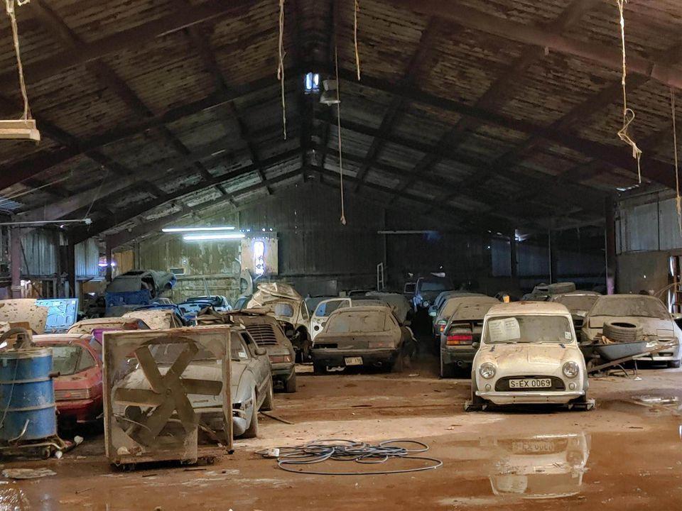 Gigantische Mazda-collectie in de verkoop