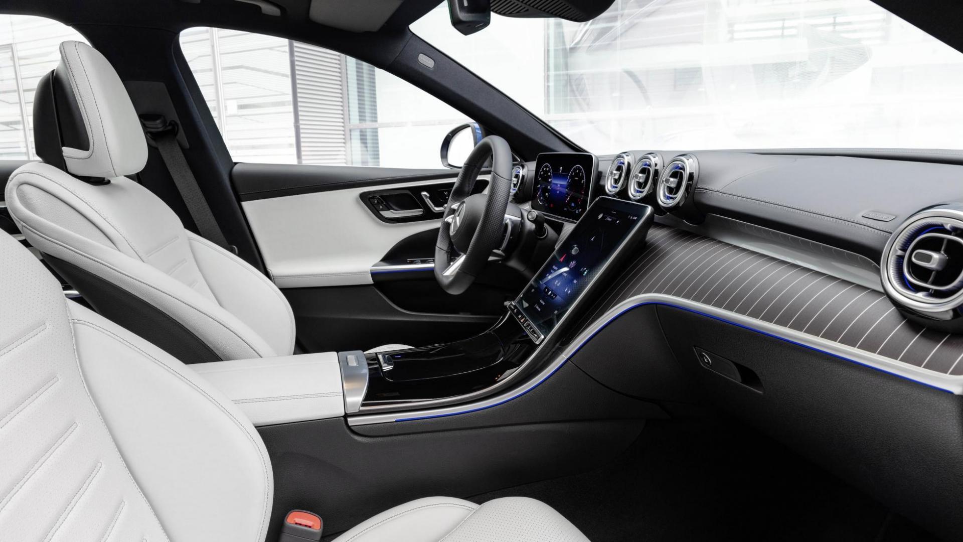 Interieur Mercedes C-klasse Estate (2021) (W206)