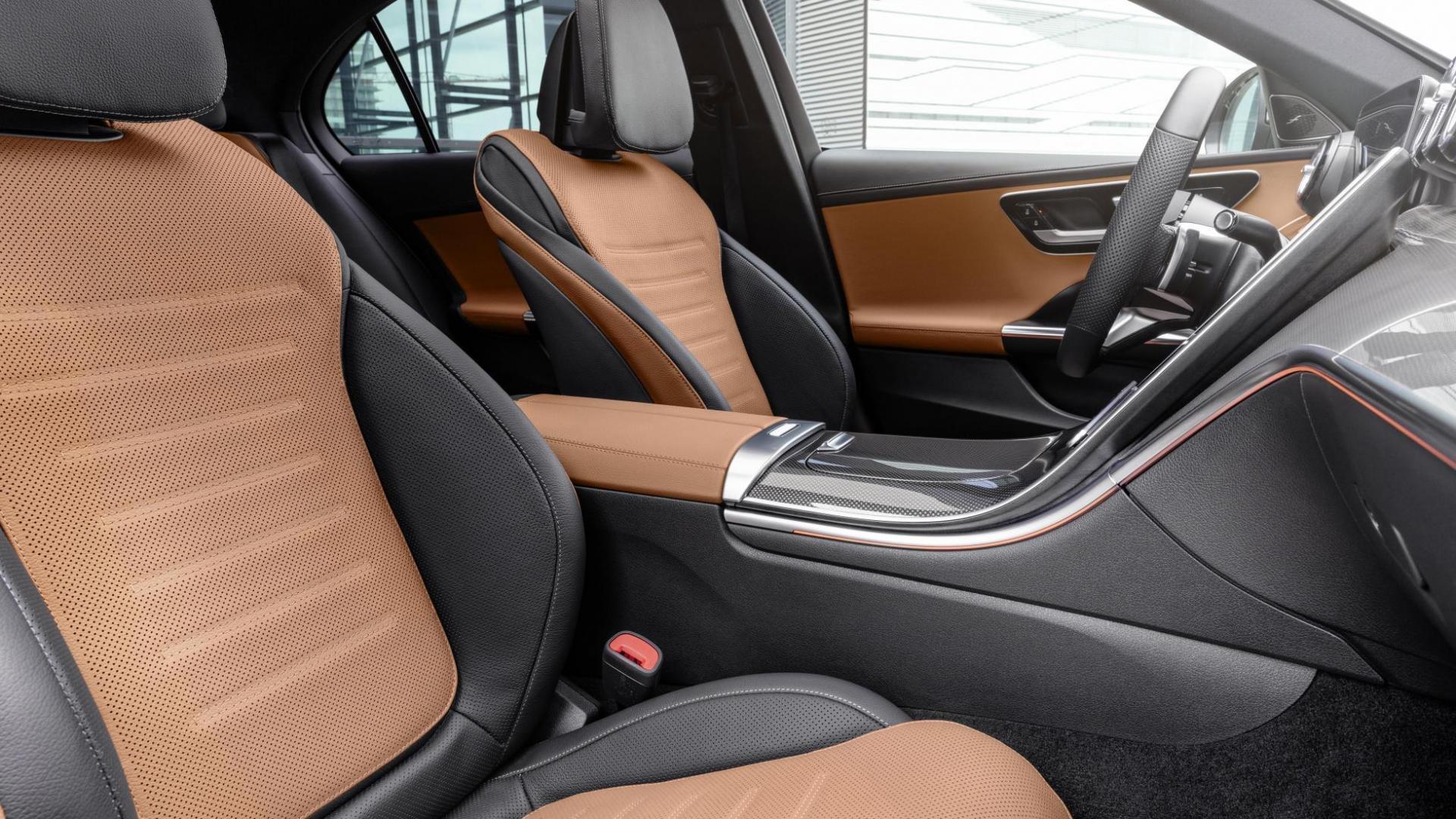 Interieur Mercedes C-klasse Sedan (2021) (W206)