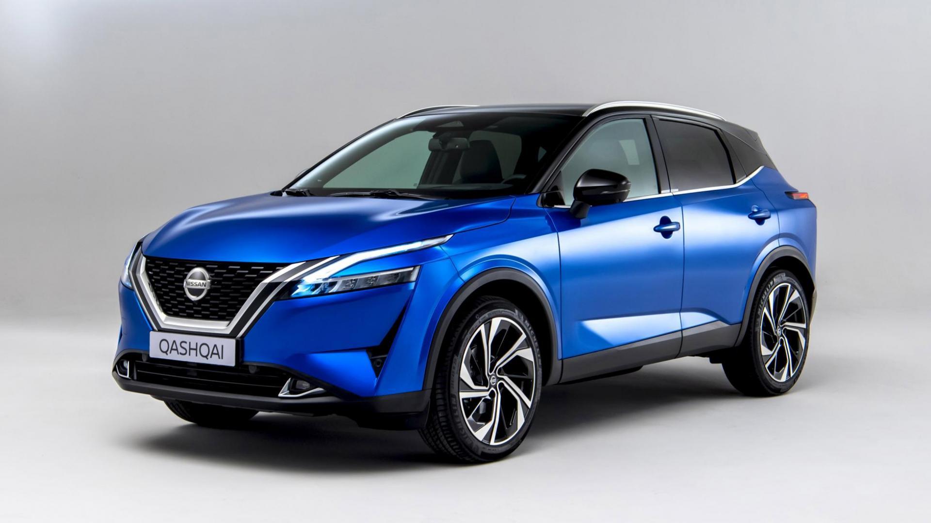 Nissan Qashqai 2021 (Blauw)