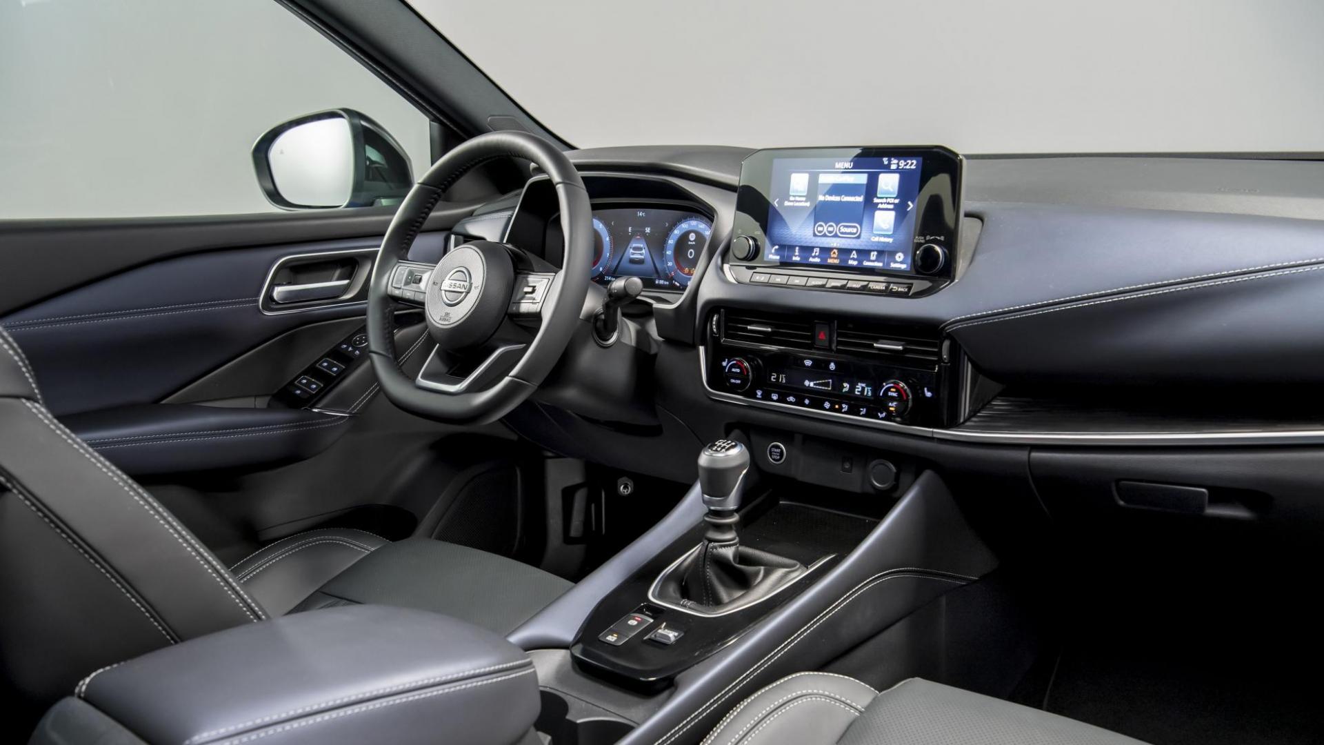 interieur en dashboard Nissan Qashqai 2021 (Blauw)
