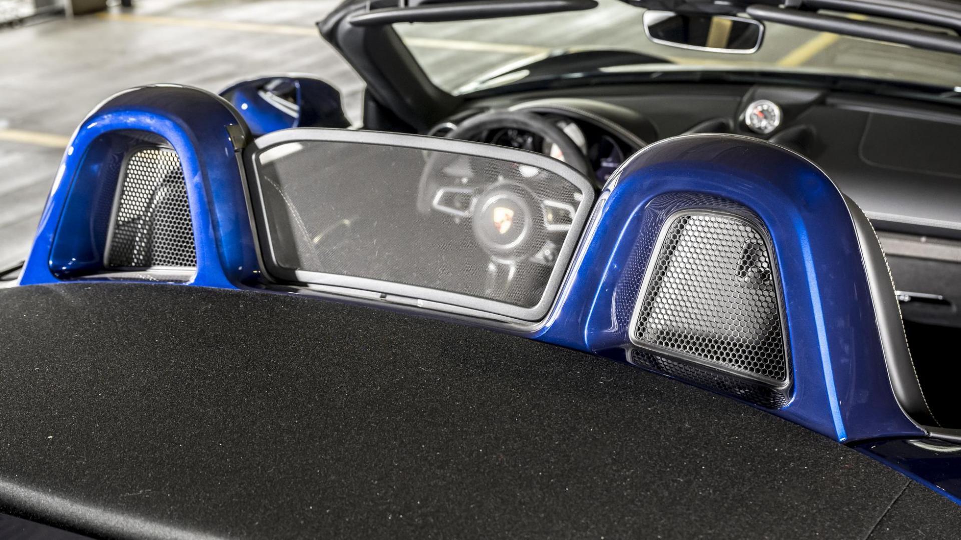 Windvanger en rolbeugels Porsche 718 GTS 4.0 PDK 20210