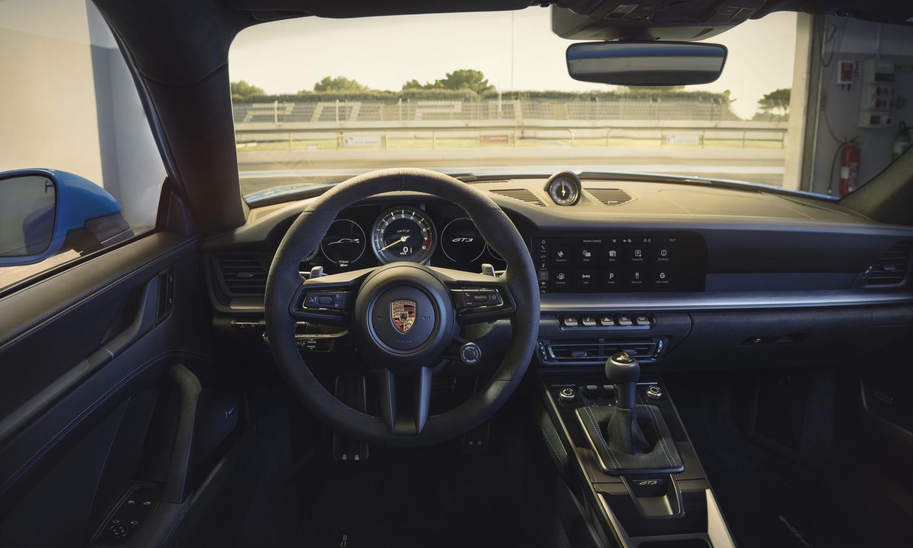 Interieur Porsche 911 GT3 (992)