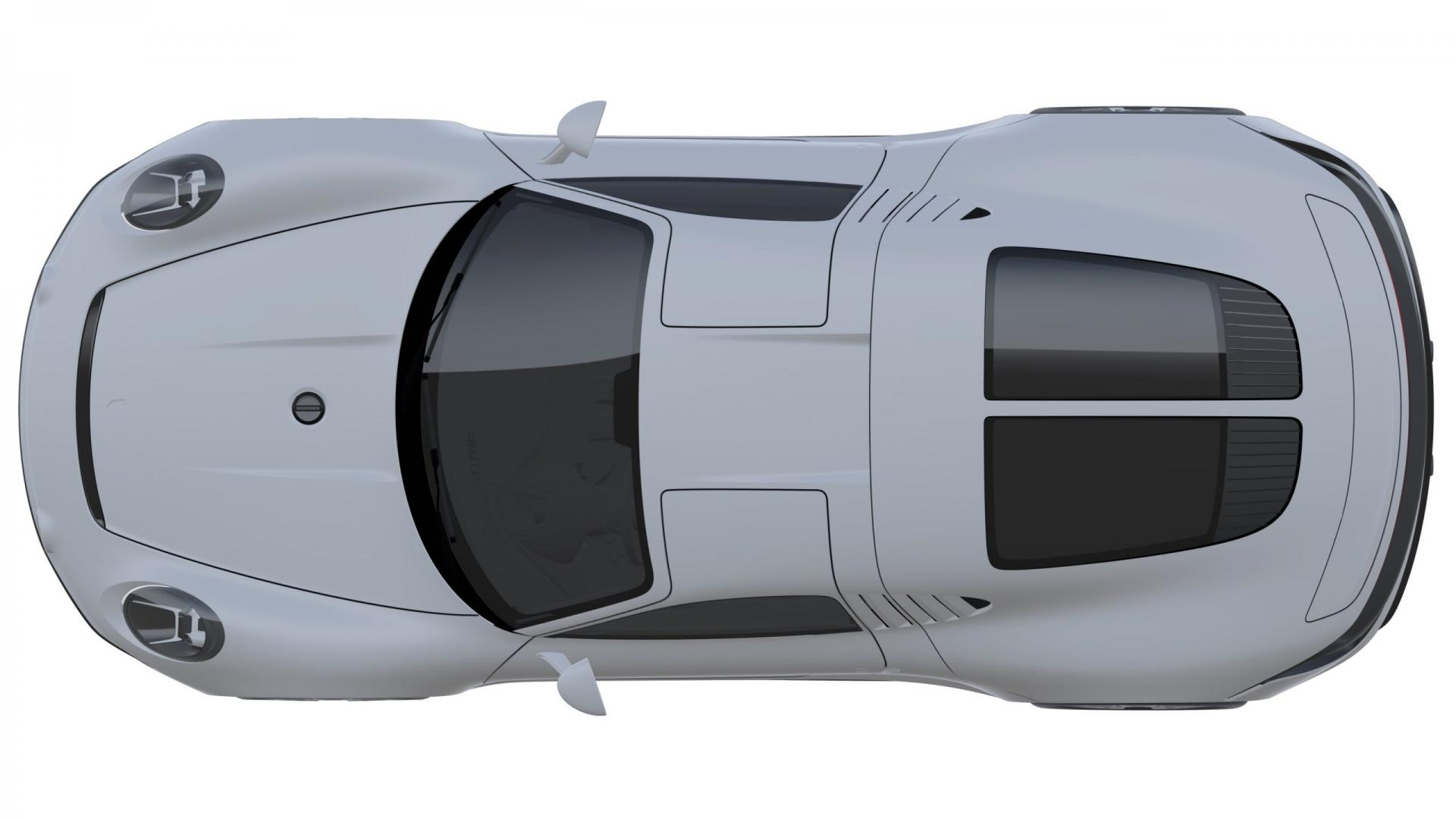 Patenttekeningen Porsche 550